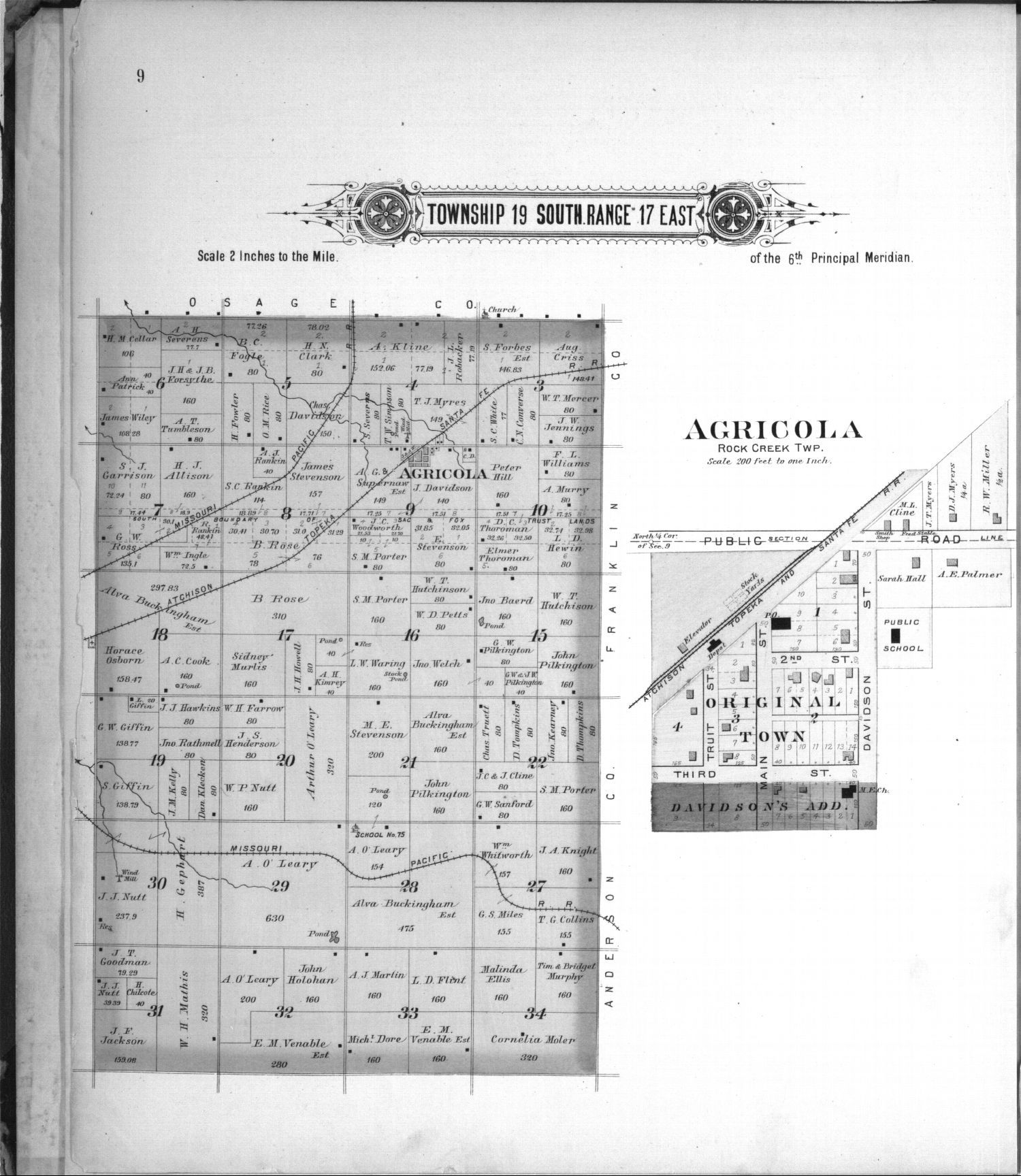 Plat book, Coffey County, Kansas - 9