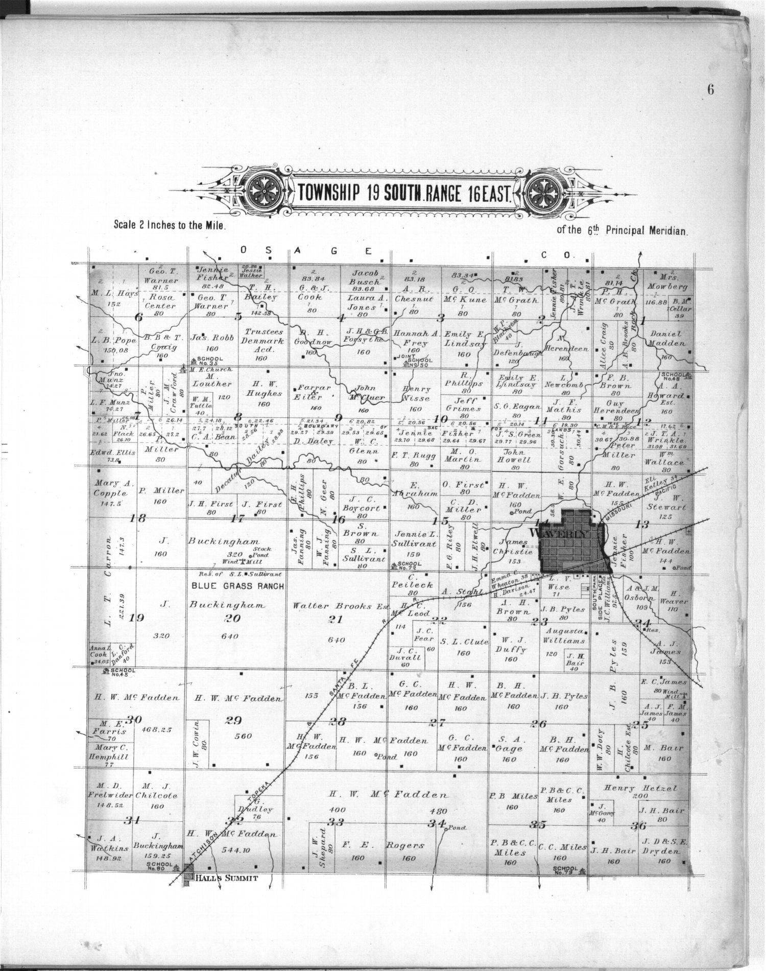 Plat book, Coffey County, Kansas - 6