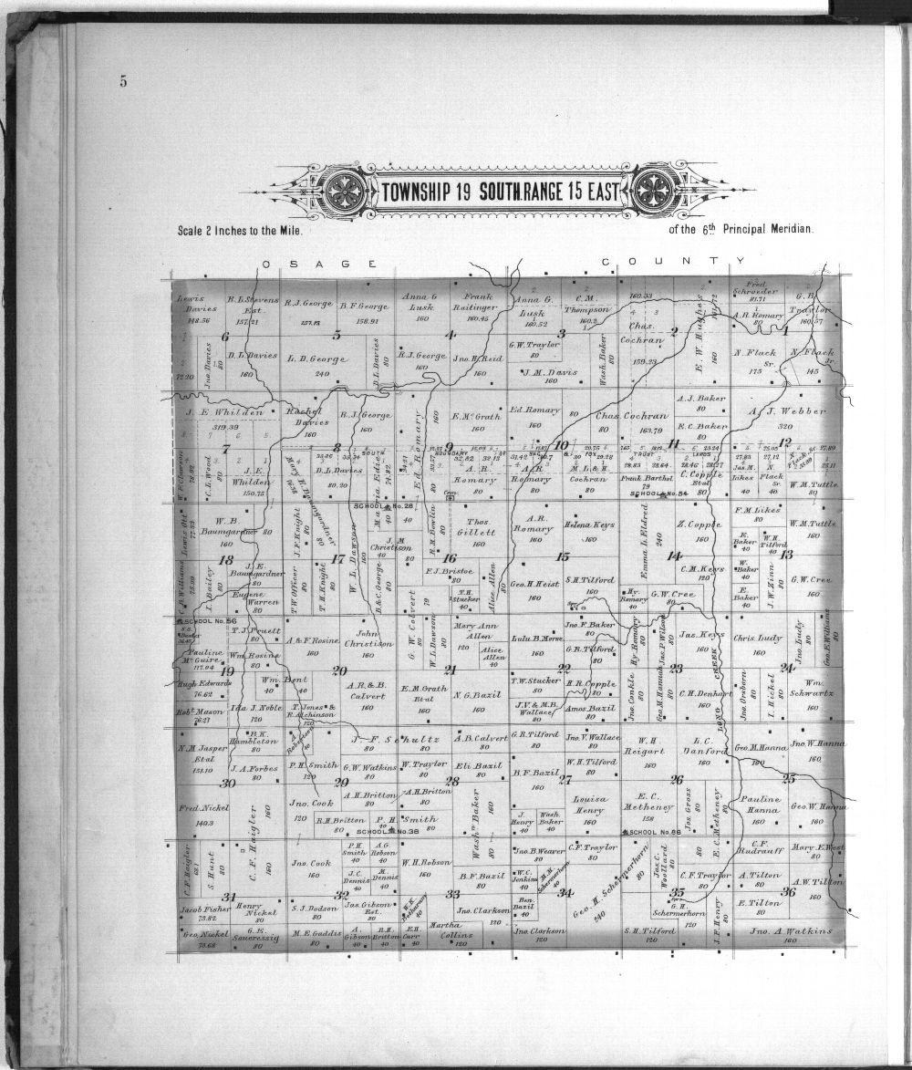 Plat book, Coffey County, Kansas - 5