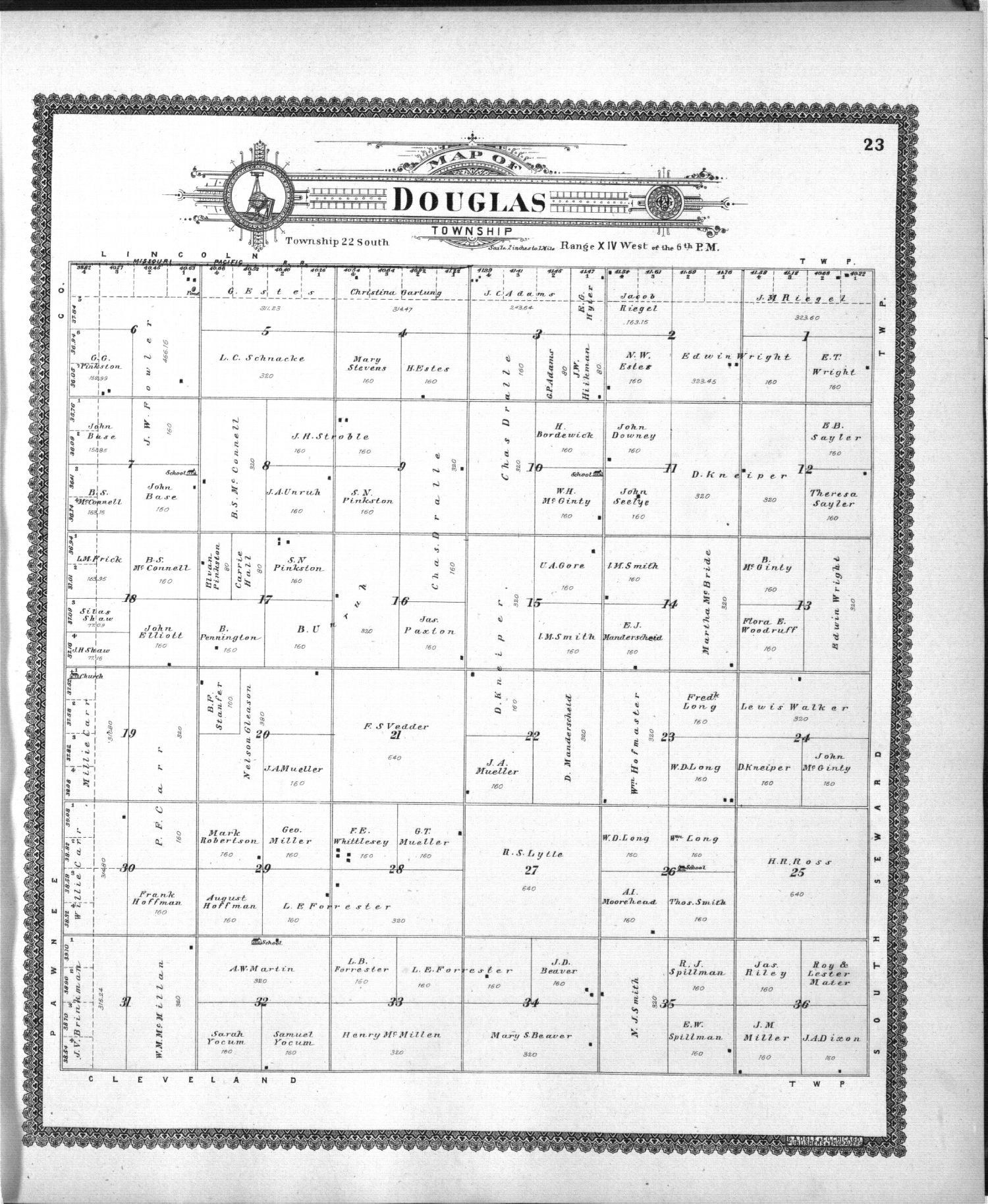 Standard atlas of Stafford County, Kansas - 23