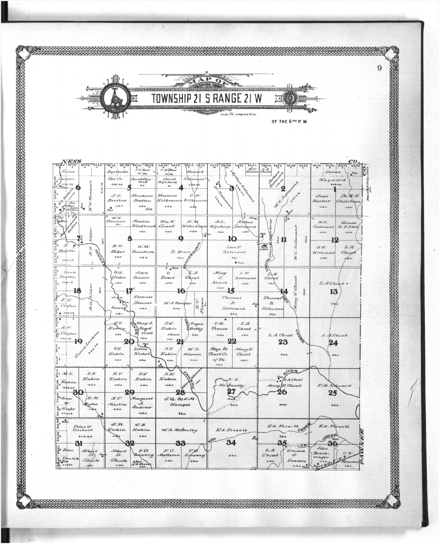 Standard atlas of Hodgeman County, Kansas - 9