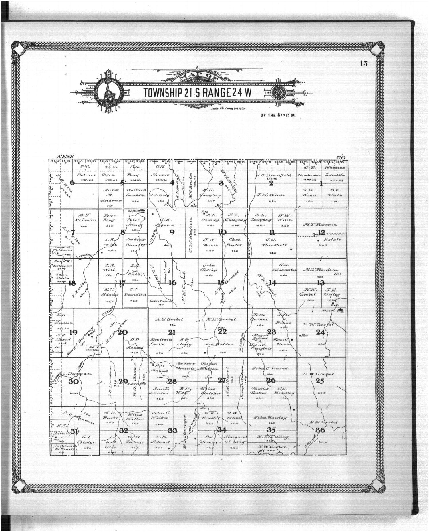 Standard atlas of Hodgeman County, Kansas - 15