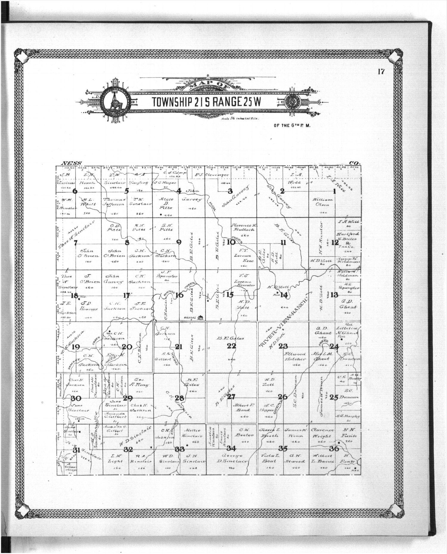Standard atlas of Hodgeman County, Kansas - 17