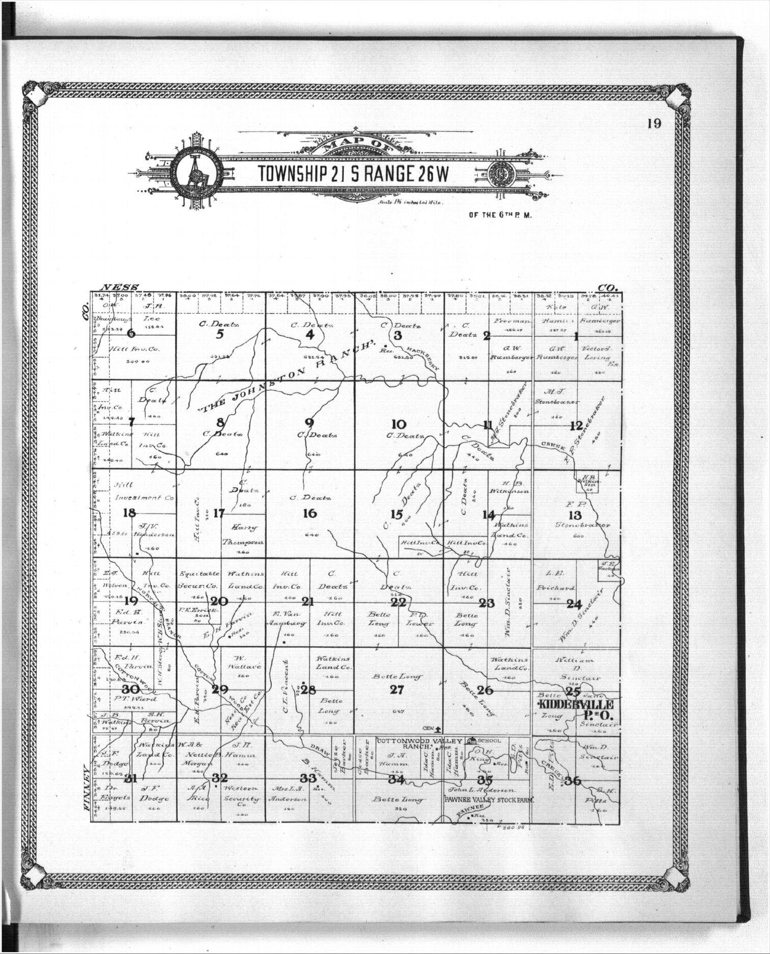 Standard atlas of Hodgeman County, Kansas - 19