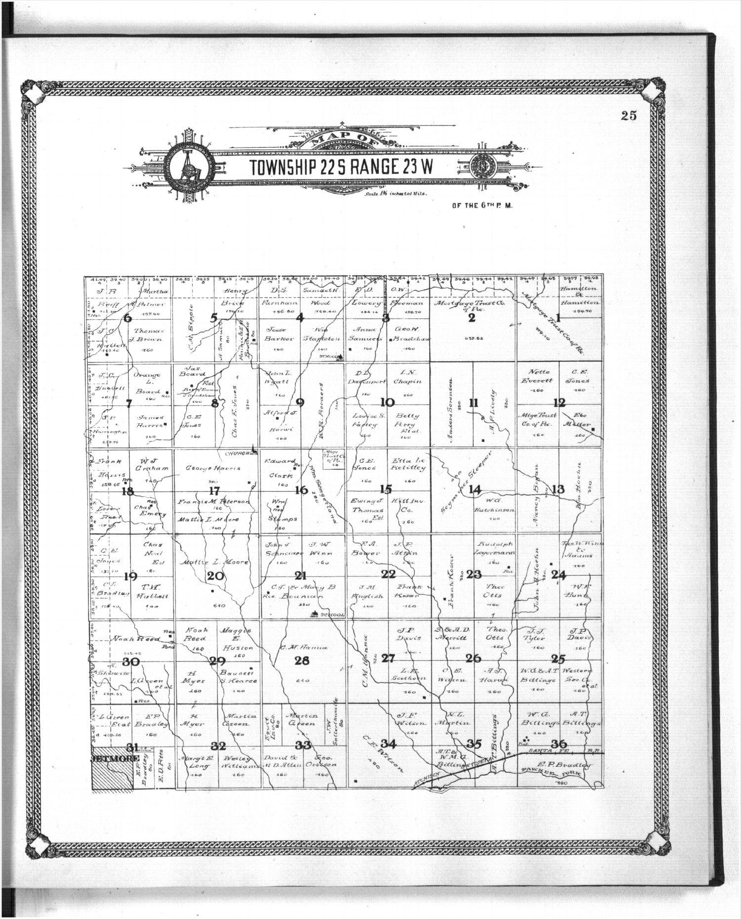 Standard atlas of Hodgeman County, Kansas - 25