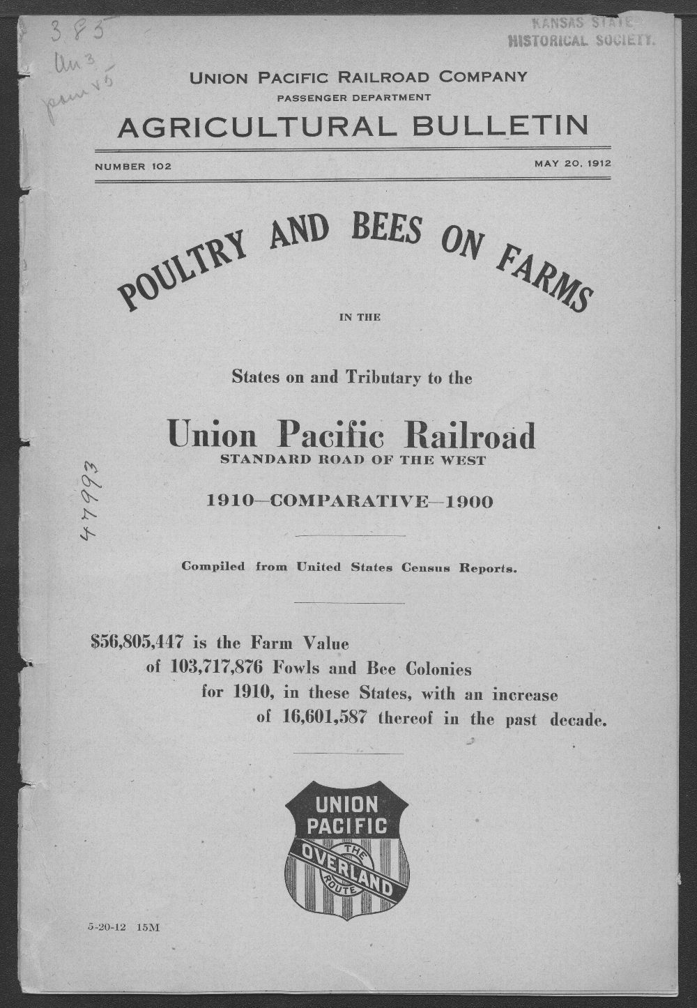 Poultry and bees on farms - Front Cover
