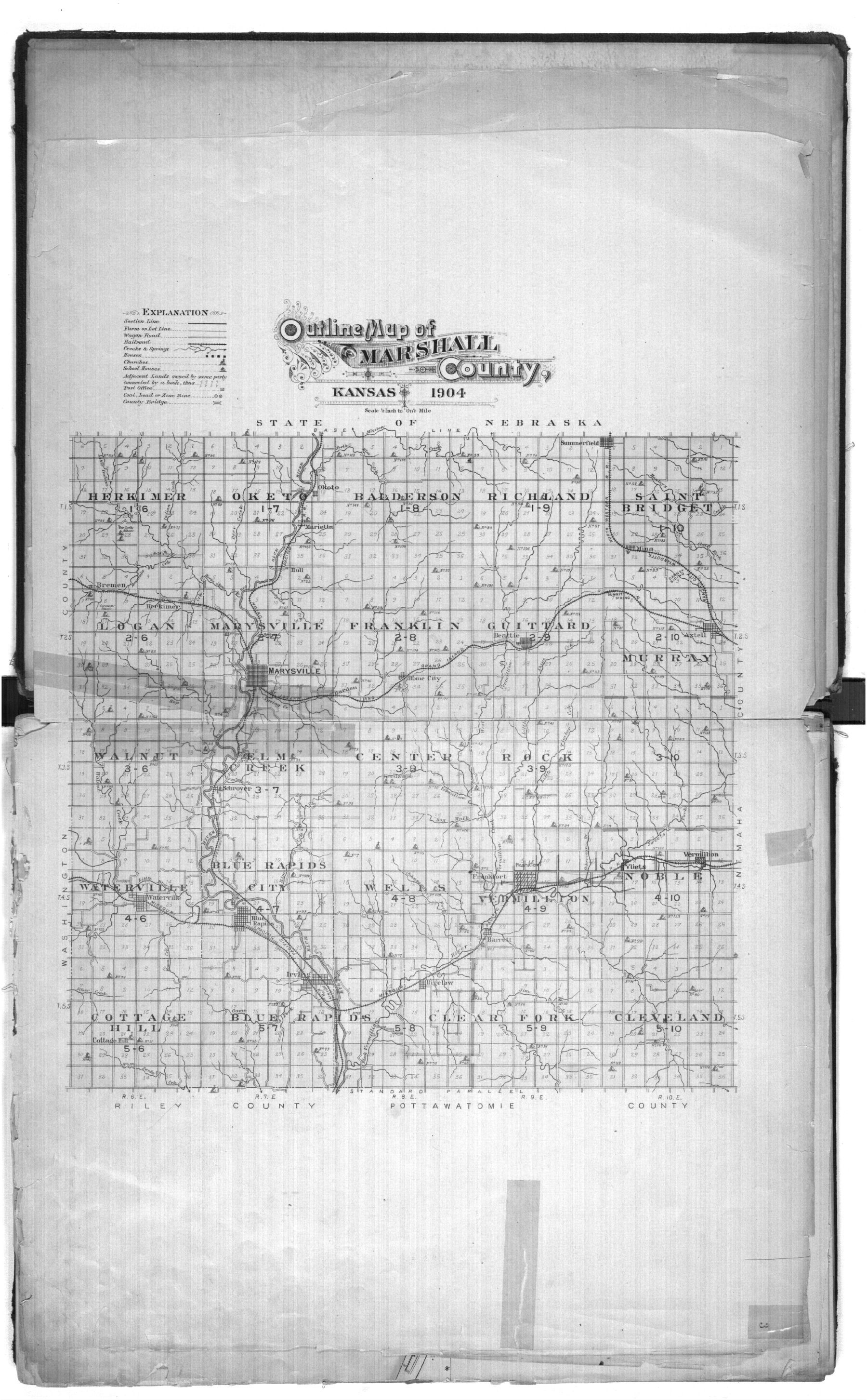 Plat book of Marshall County, Kansas - 2 & 3