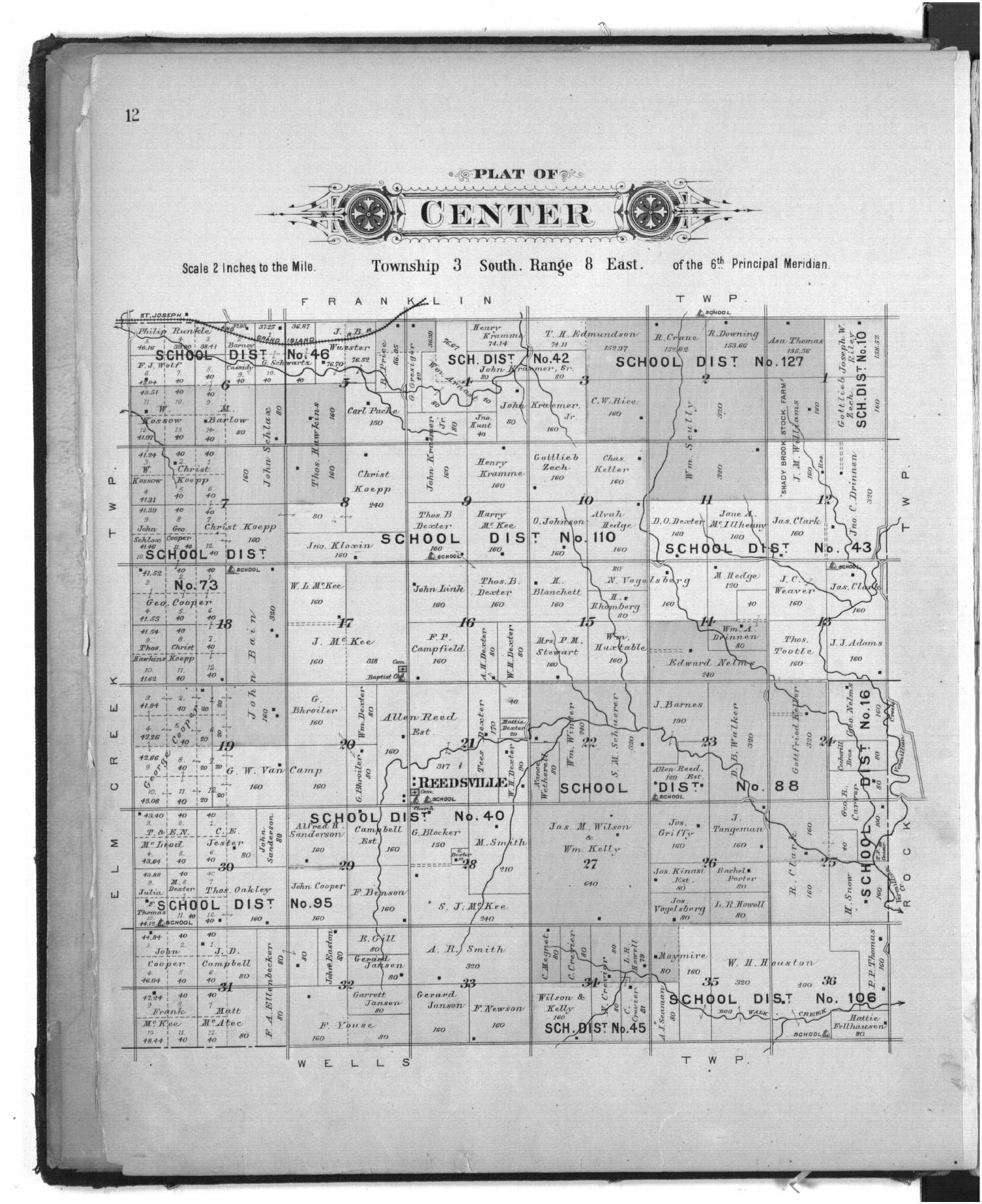 Plat book of Marshall County, Kansas - 12