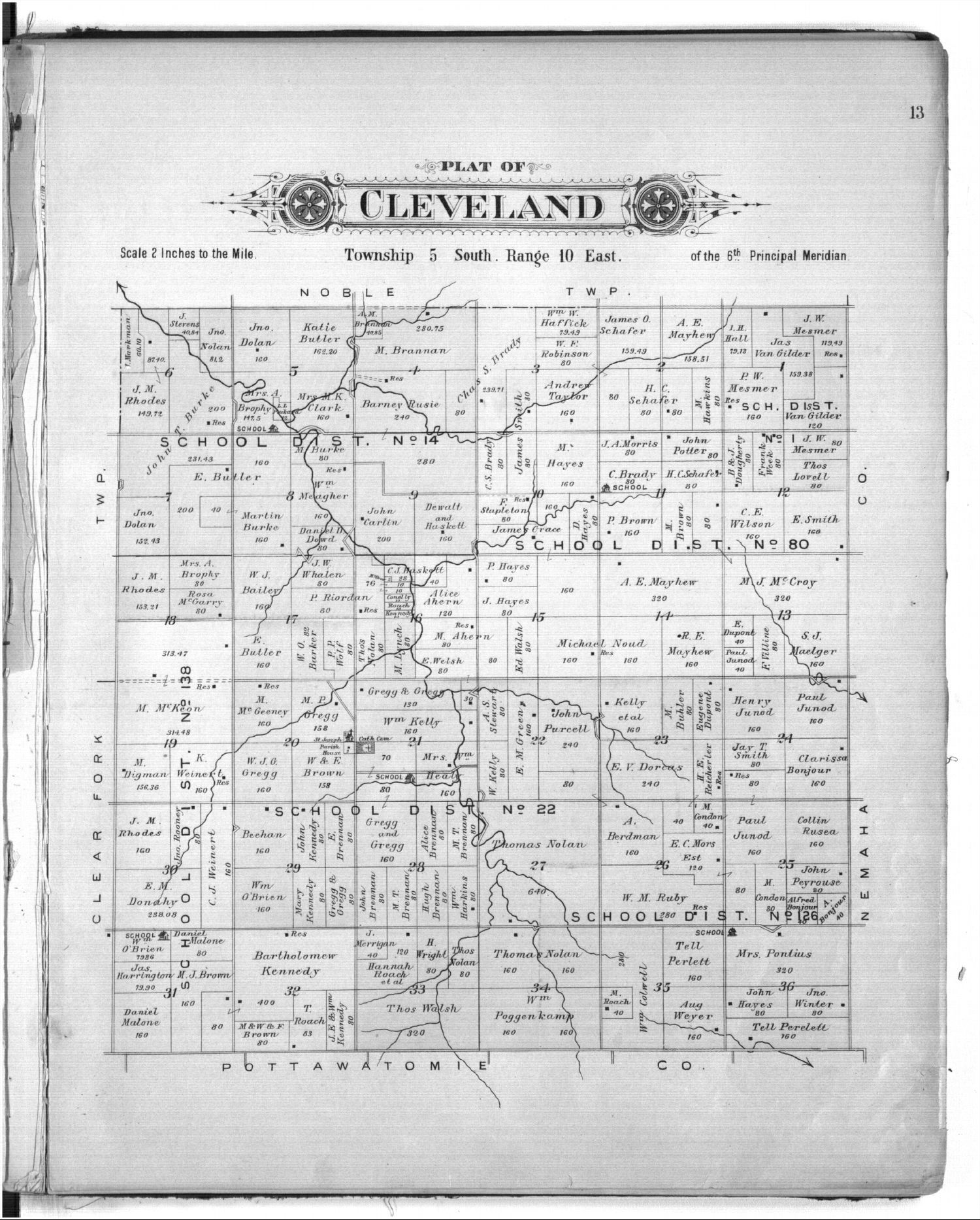 Plat book of Marshall County, Kansas - 13