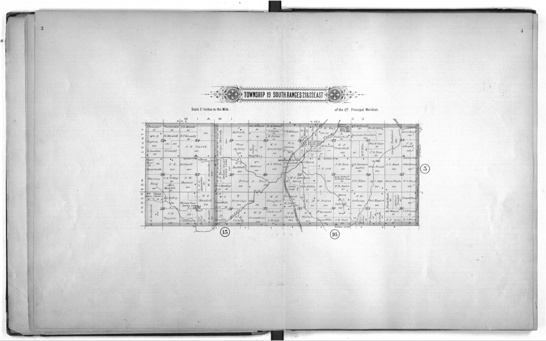 Plat book of Linn County, Kansas - 3 & 4