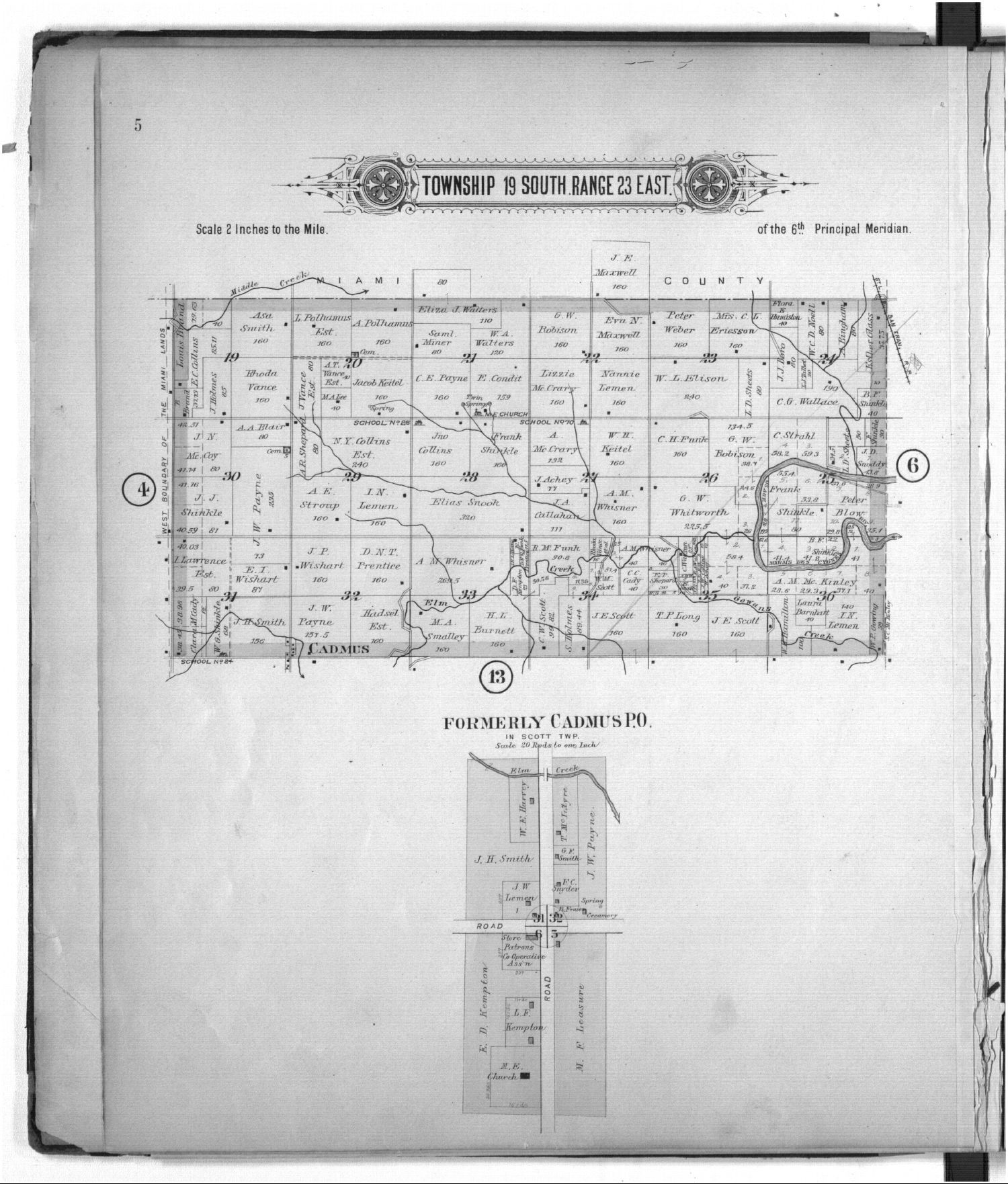 Plat book of Linn County, Kansas - 5