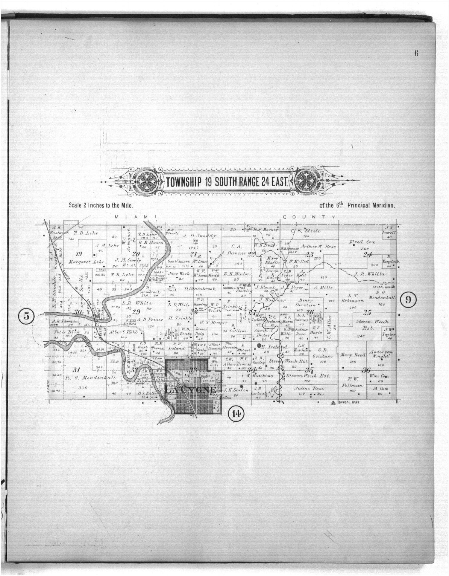 Plat book of Linn County, Kansas - 6