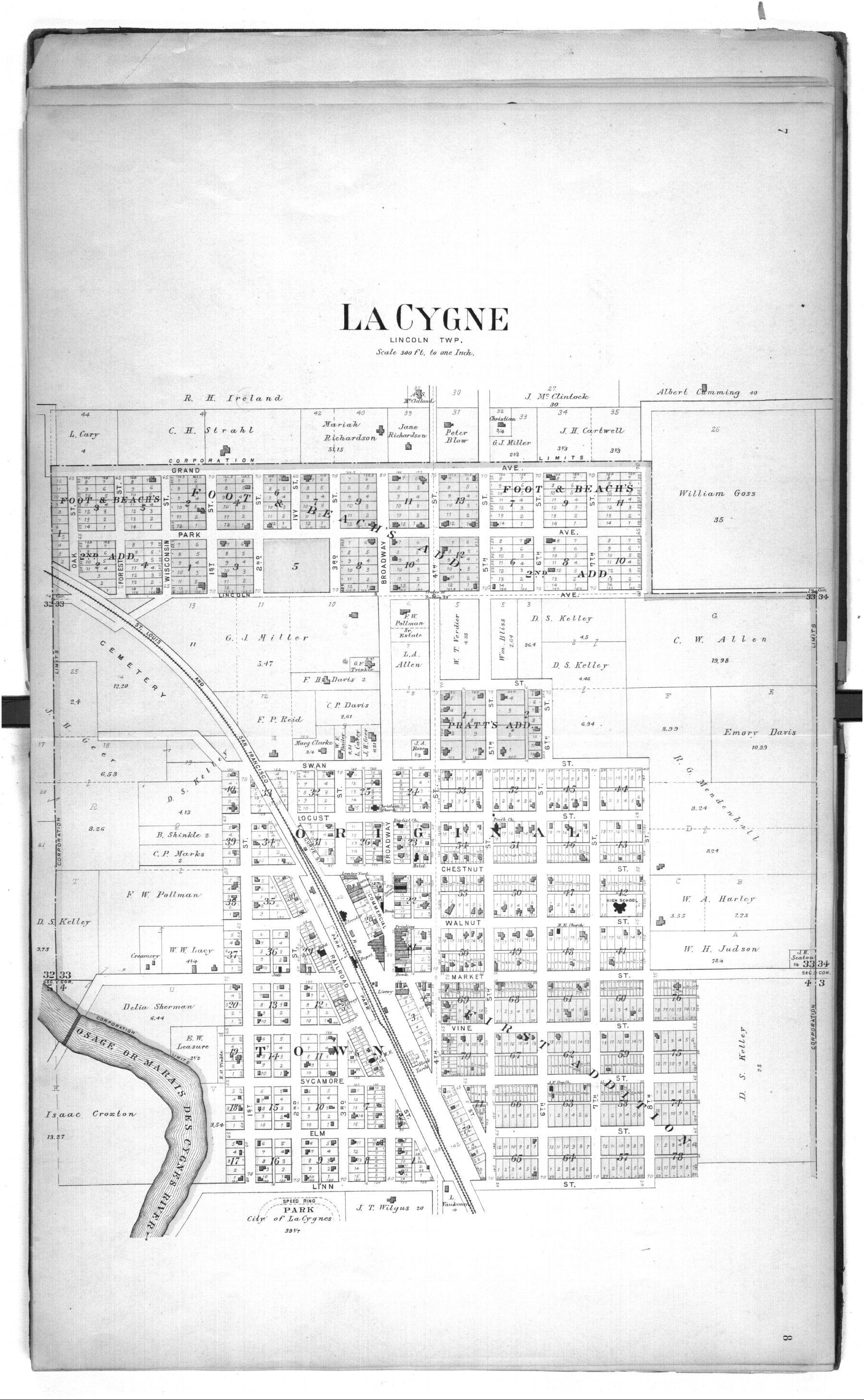 Plat book of Linn County, Kansas - 7 &  8