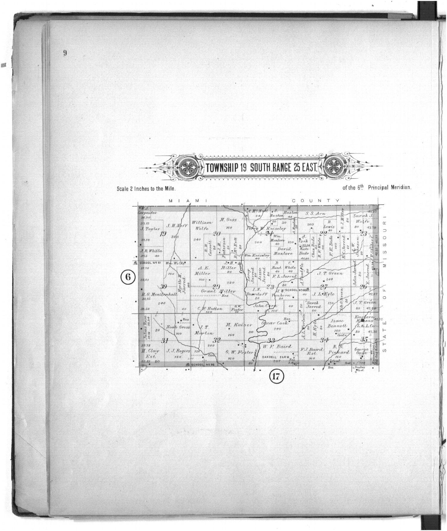Plat book of Linn County, Kansas - 9