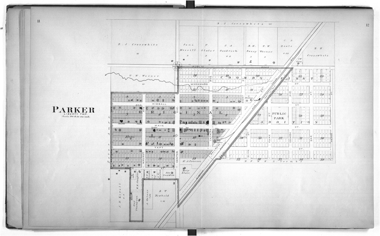 Plat book of Linn County, Kansas - 11 &  12