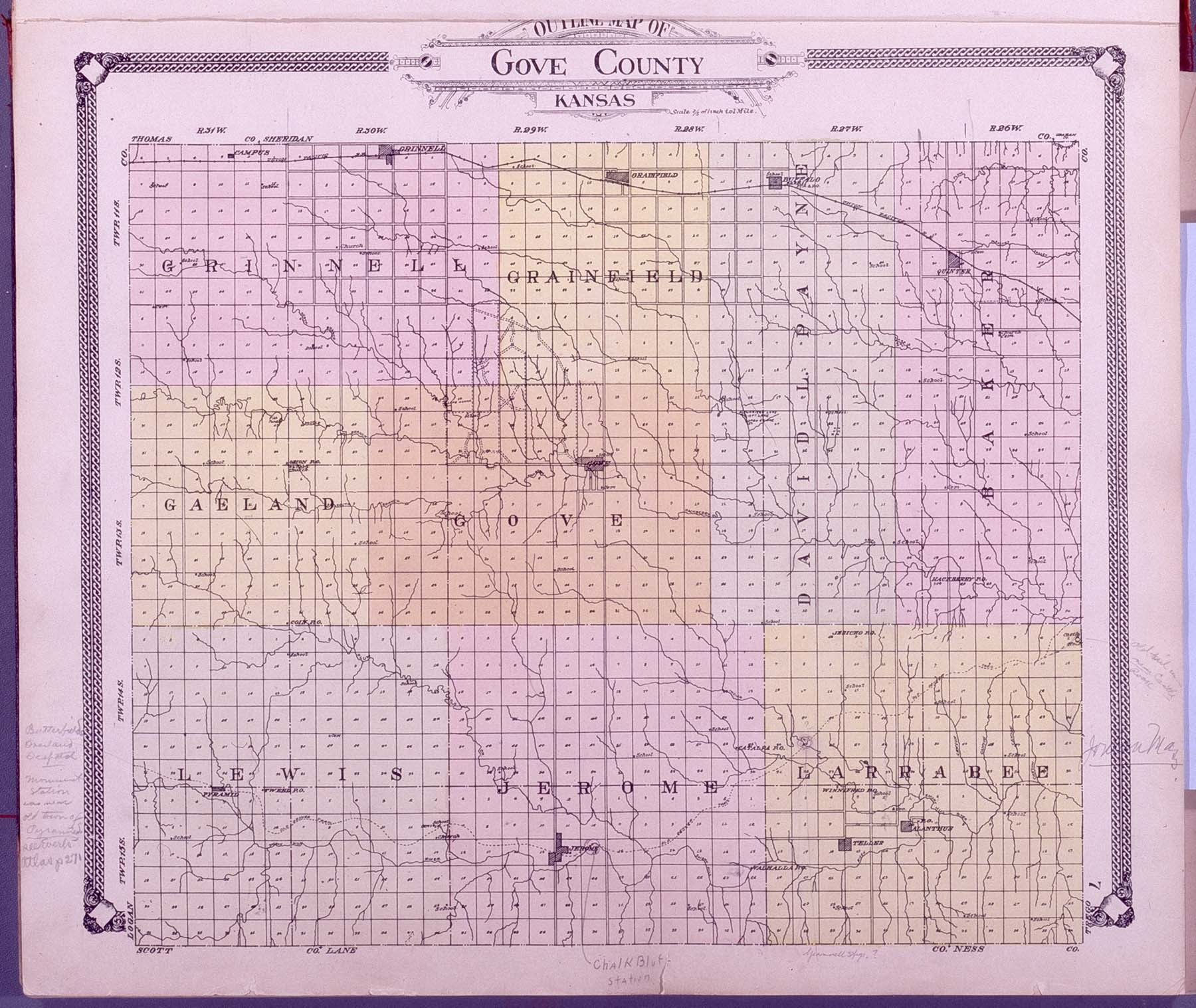 Standard atlas of Gove County, Kansas - 7