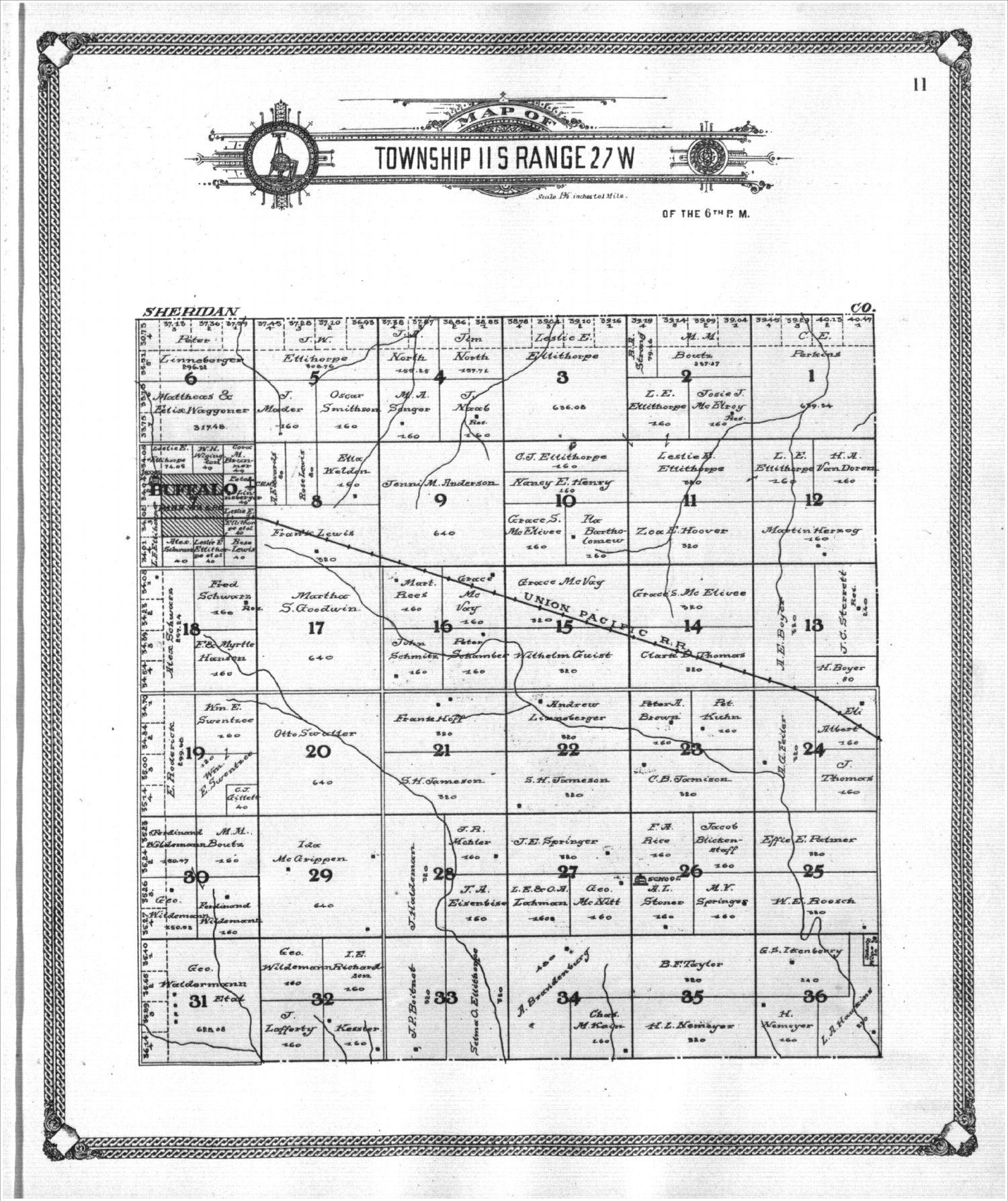 Standard atlas of Gove County, Kansas - 11