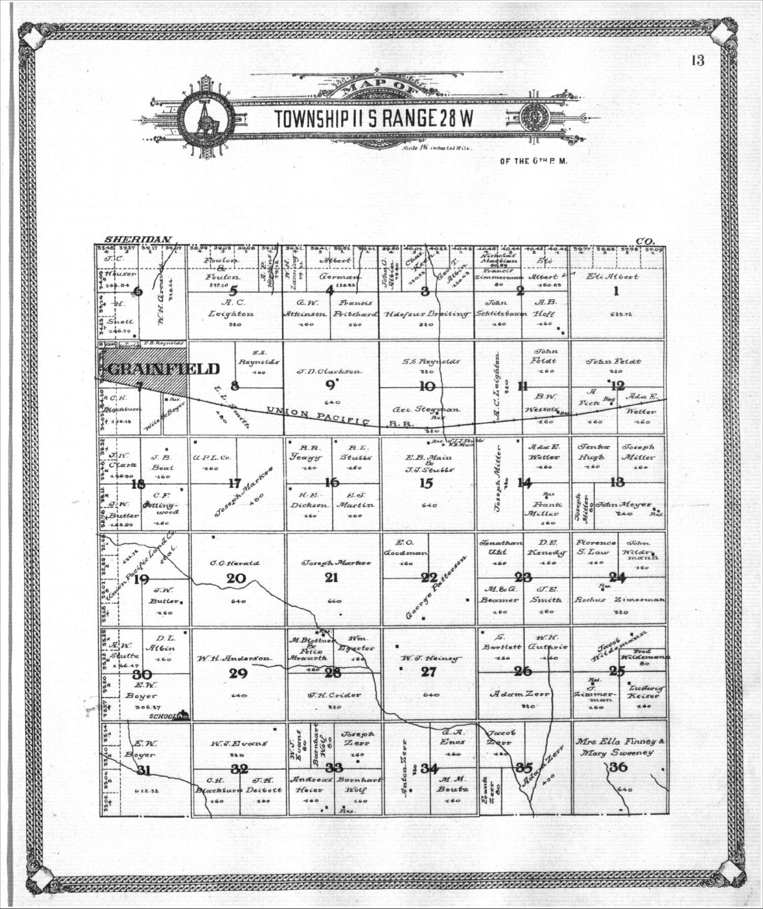 Standard atlas of Gove County, Kansas - 13