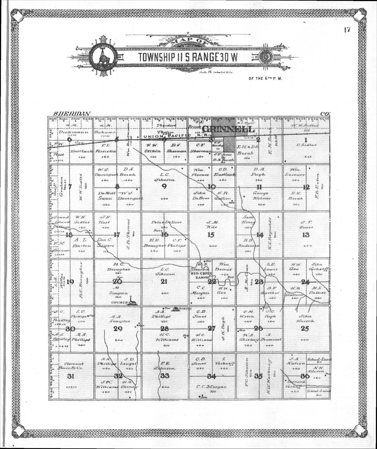 Standard atlas of Gove County, Kansas - 17