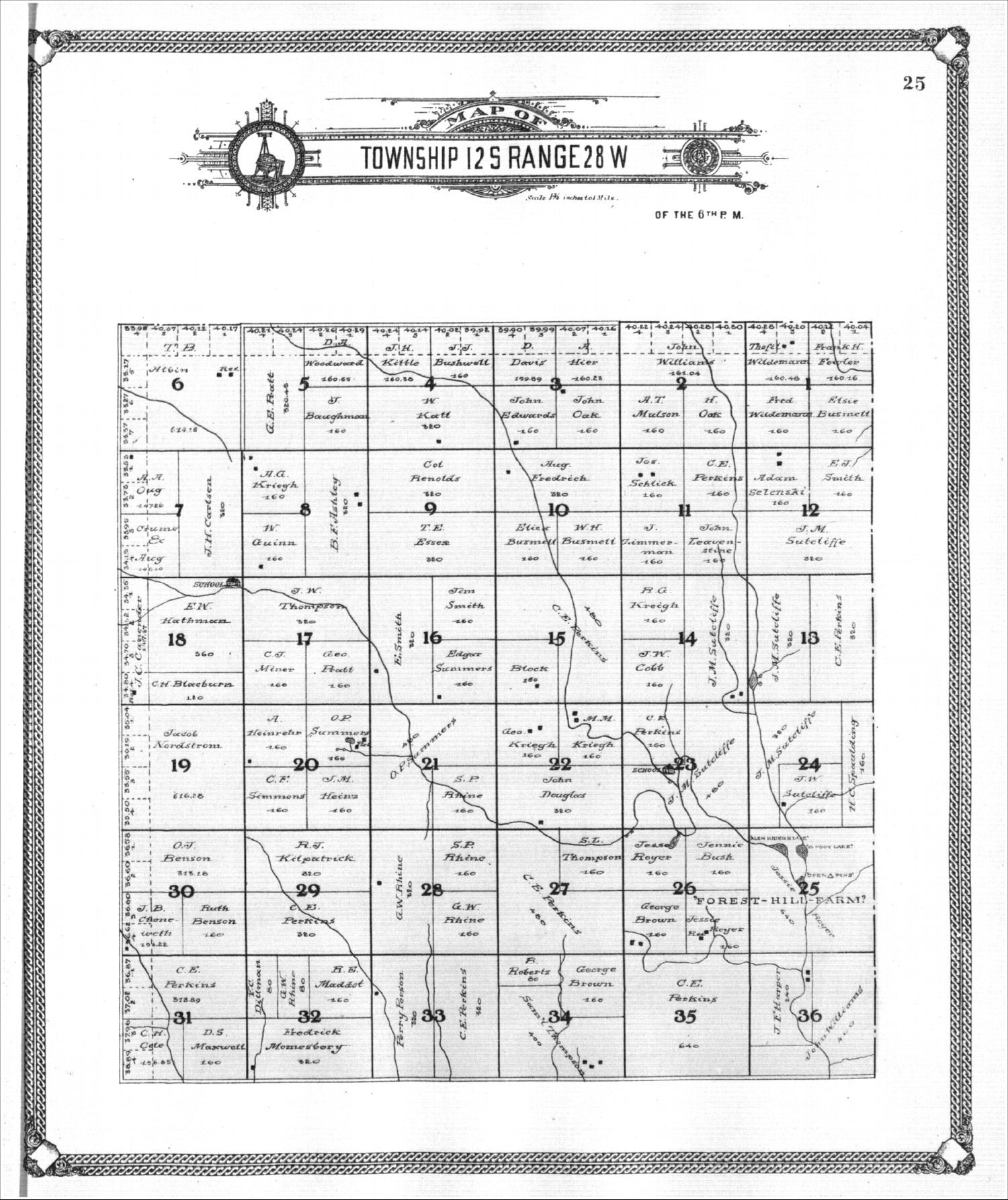 Standard atlas of Gove County, Kansas - 25