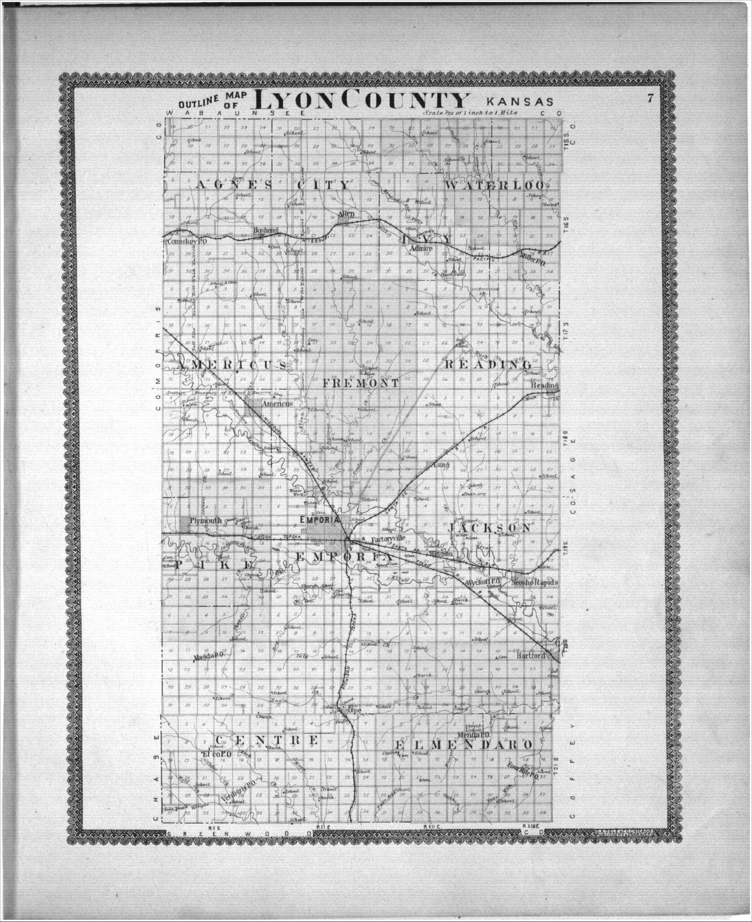 Standard atlas, Lyon County, Kansas - 7