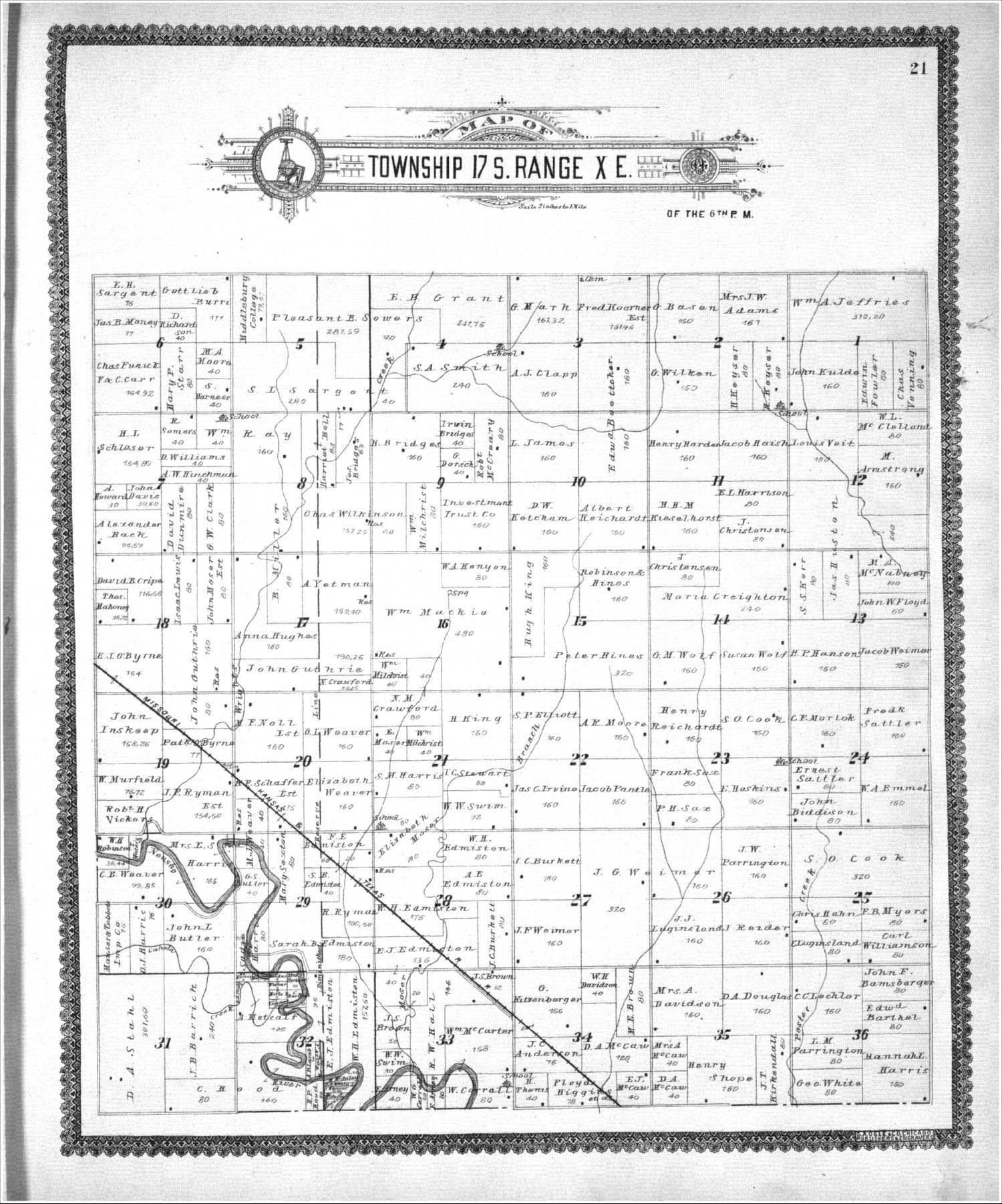 Standard atlas, Lyon County, Kansas - 21