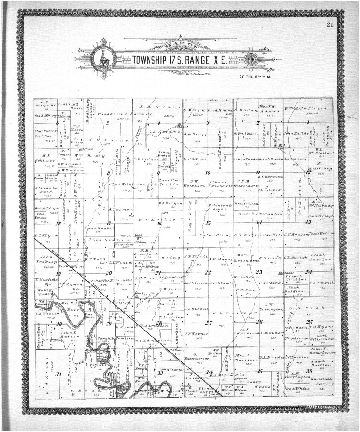 Standard atlas, Lyon County, Kansas - 21