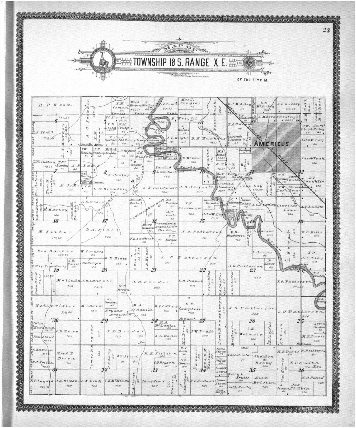 Standard atlas, Lyon County, Kansas - 23