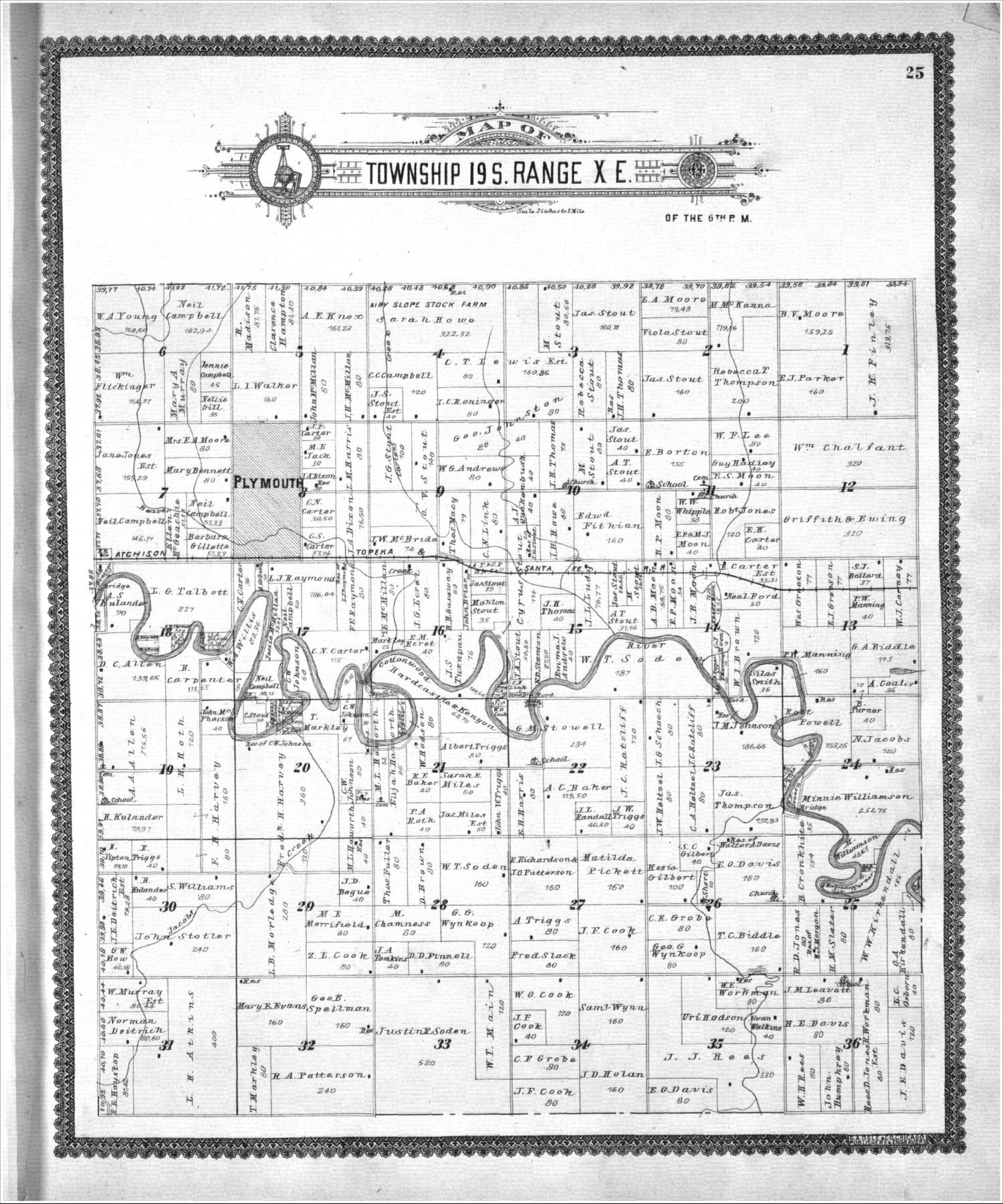 Standard atlas, Lyon County, Kansas - 25