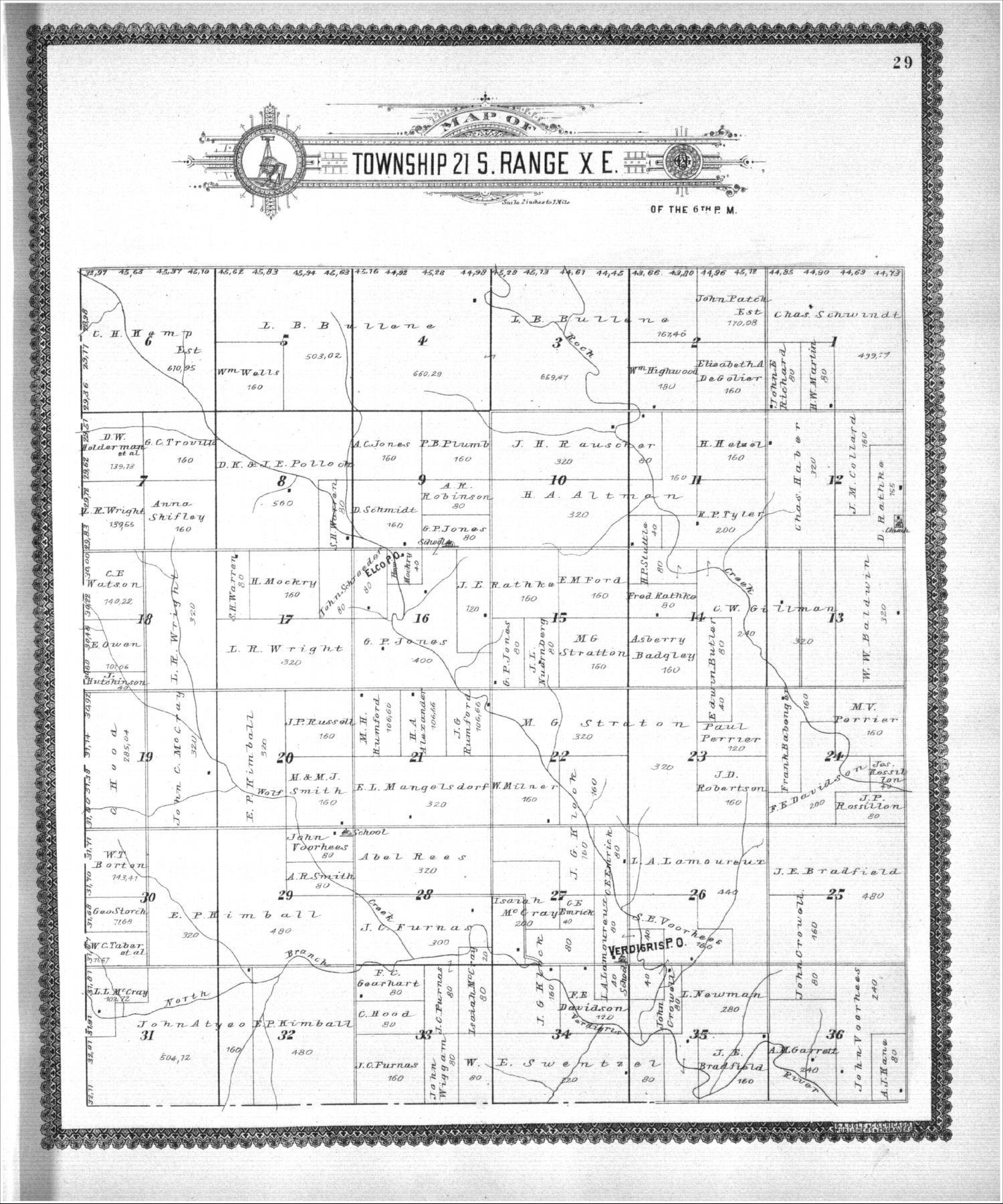 Standard atlas, Lyon County, Kansas - 29