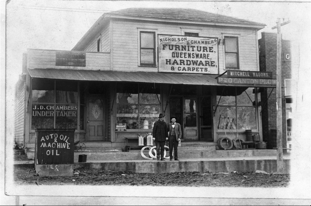 Nicholson U0026 Chambers Furniture Store And J.D. Chambers Undertaker, De Soto,  Kansas