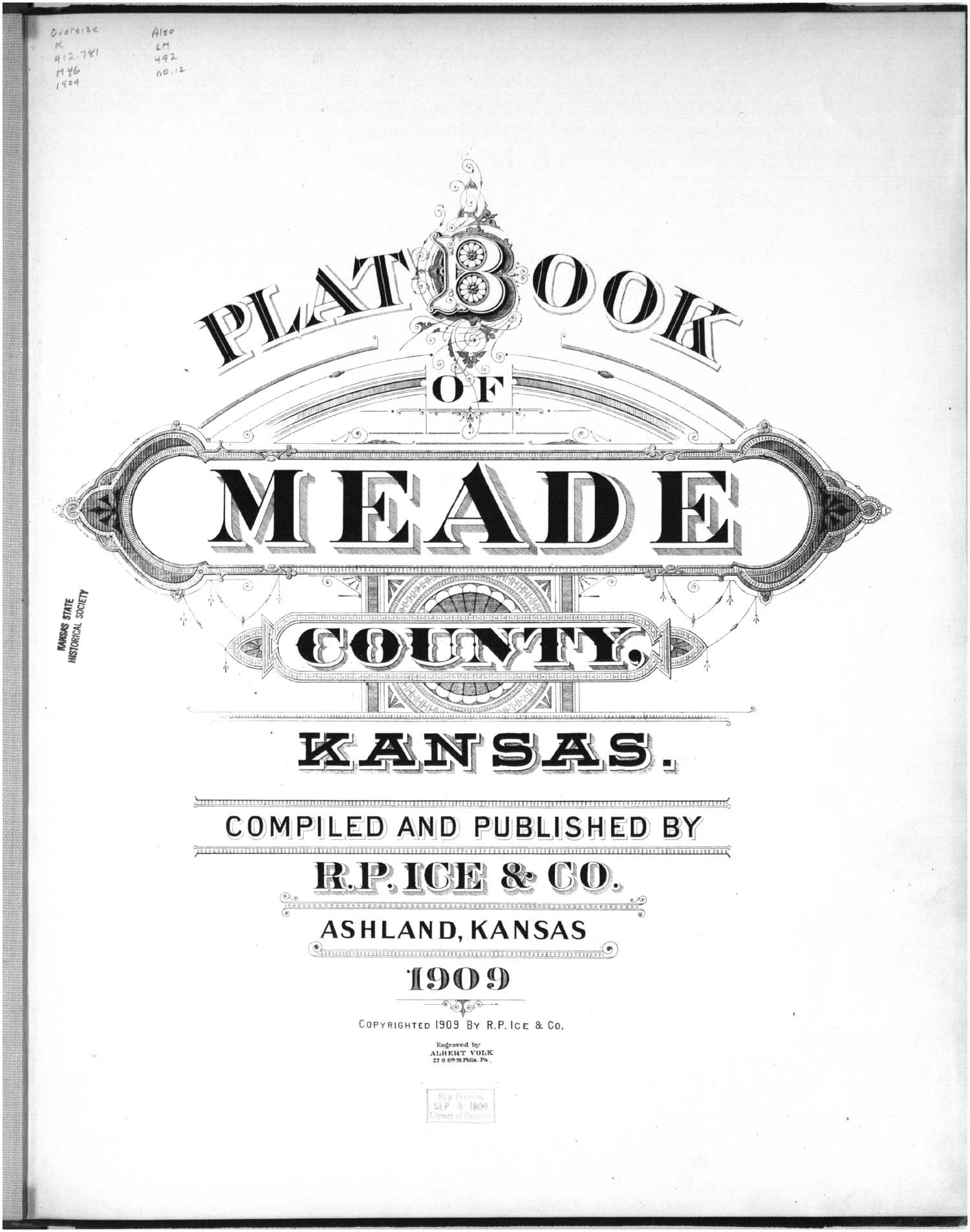 Plat book of Meade County, Kansas - Title Page