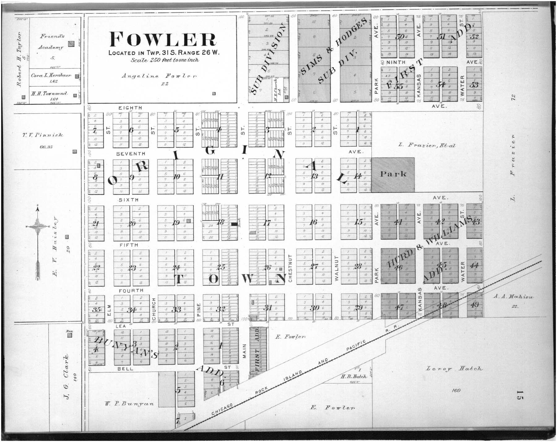 Plat book of Meade County, Kansas - 15