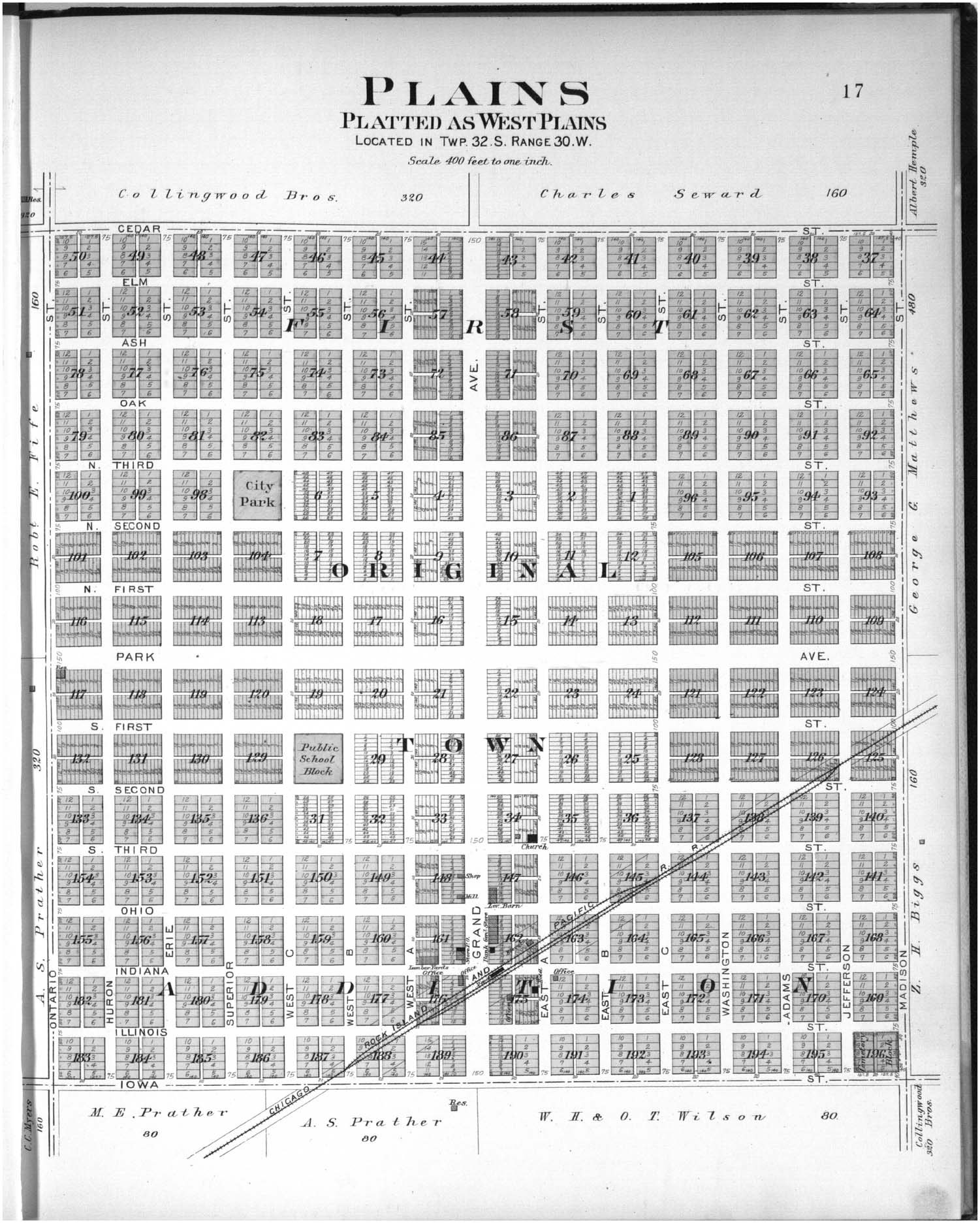 Plat book of Meade County, Kansas - 17