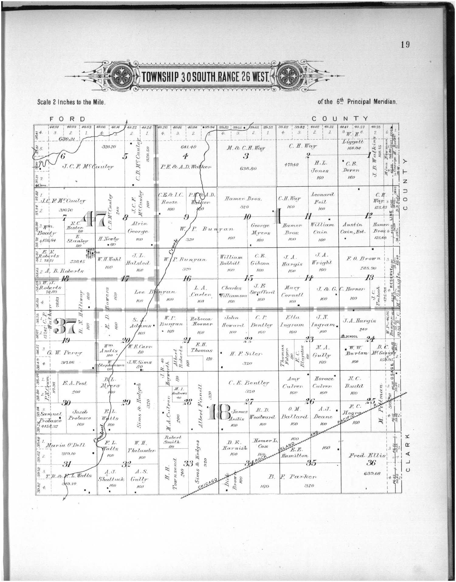 Plat book of Meade County, Kansas - 19