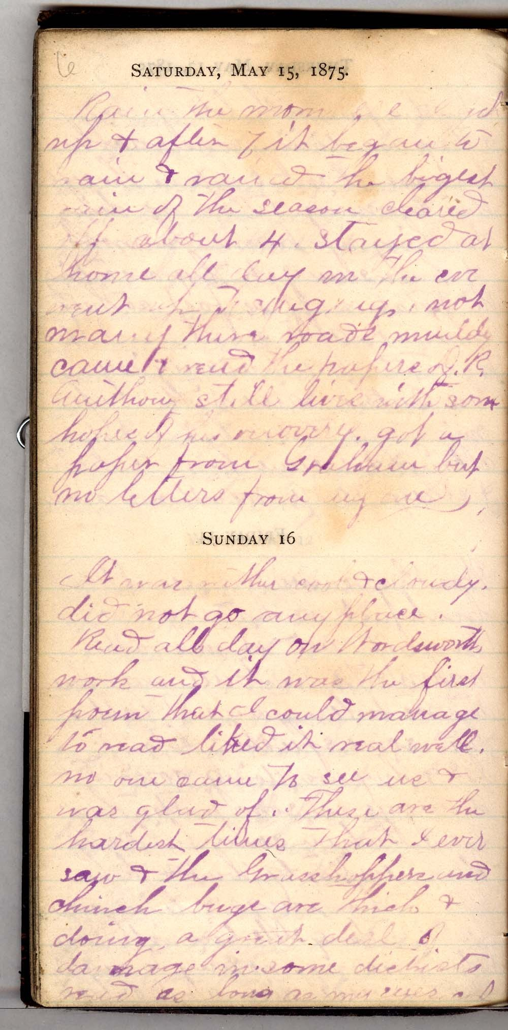 John William Gardiner diary - 6