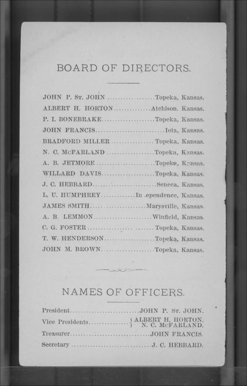 Articles of Corporation and By-Laws of the Kansas Freedmen's Relief Association - 2