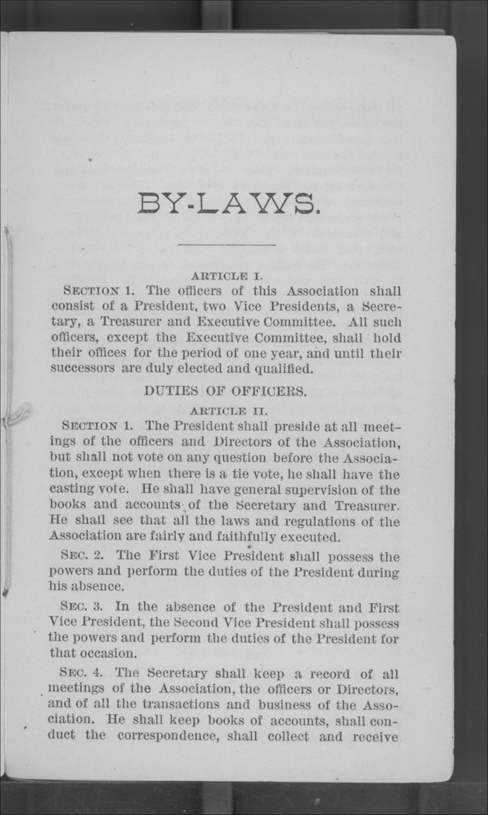 Articles of Corporation and By-Laws of the Kansas Freedmen's Relief Association - 5