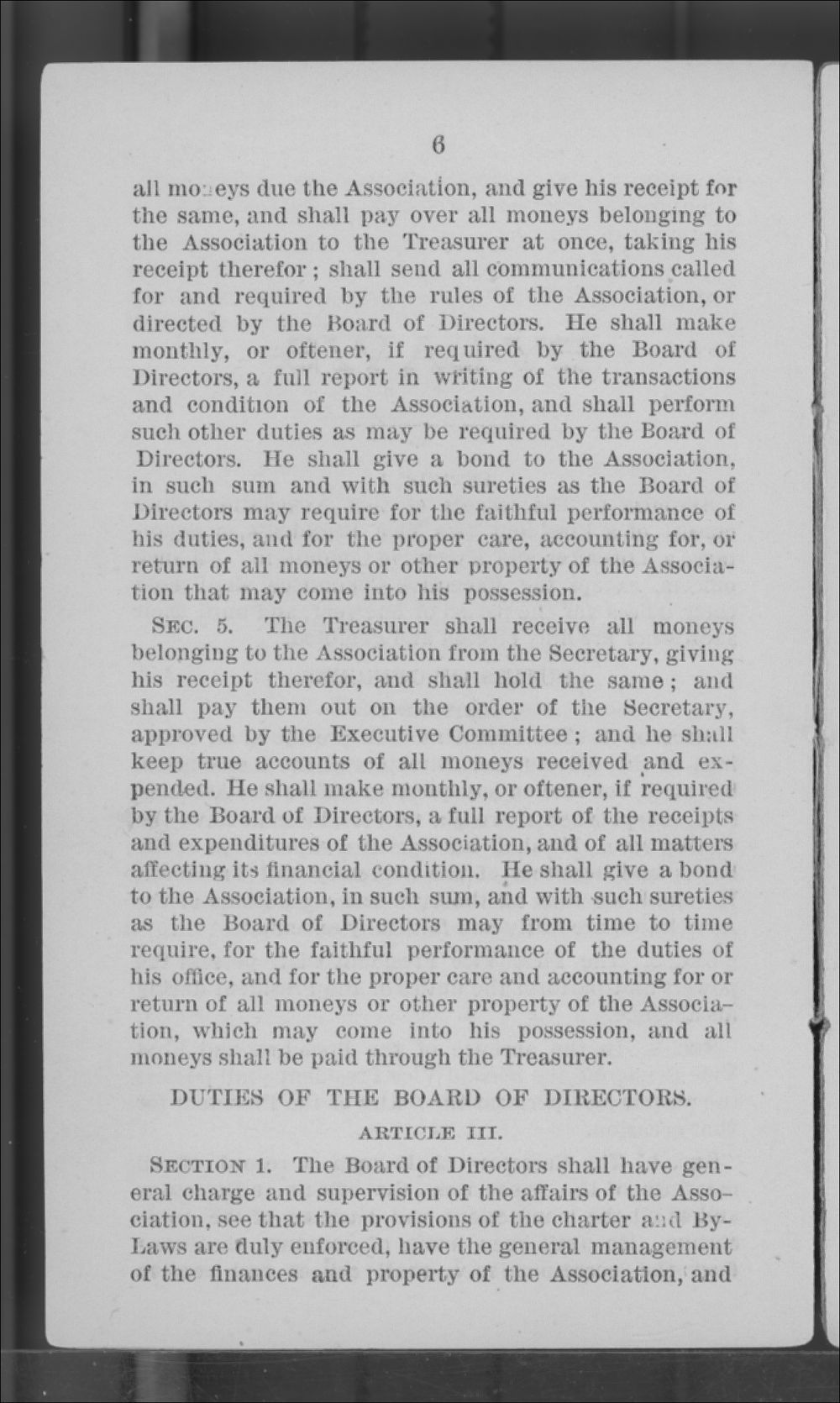 Articles of Corporation and By-Laws of the Kansas Freedmen's Relief Association - 6