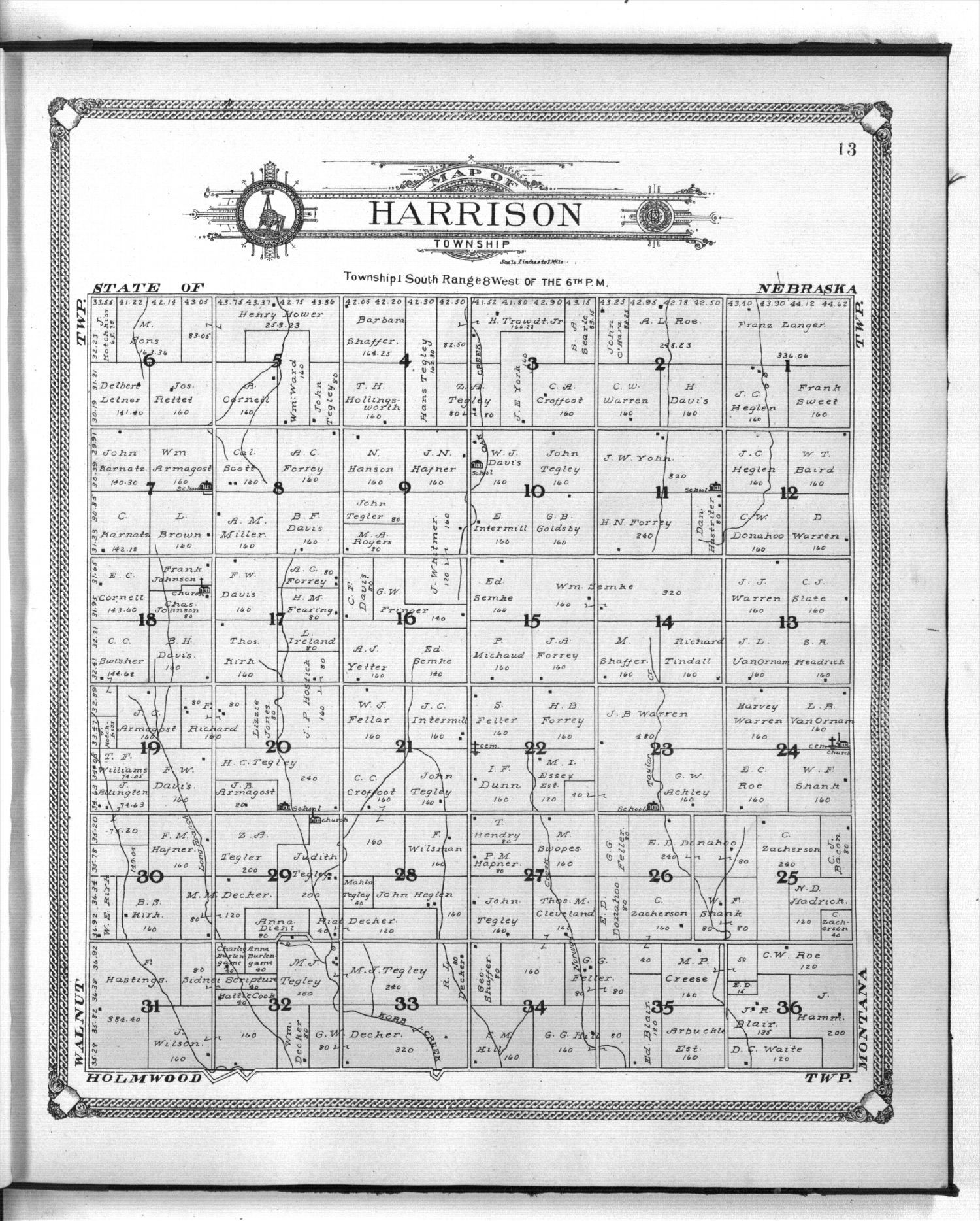 Standard atlas of Jewell County, Kansas - 13