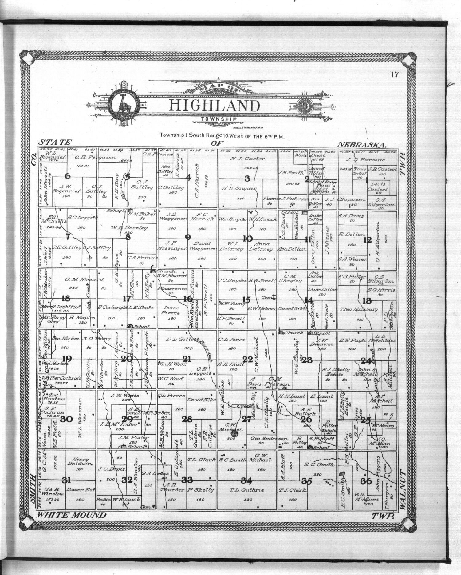Standard atlas of Jewell County, Kansas - 17