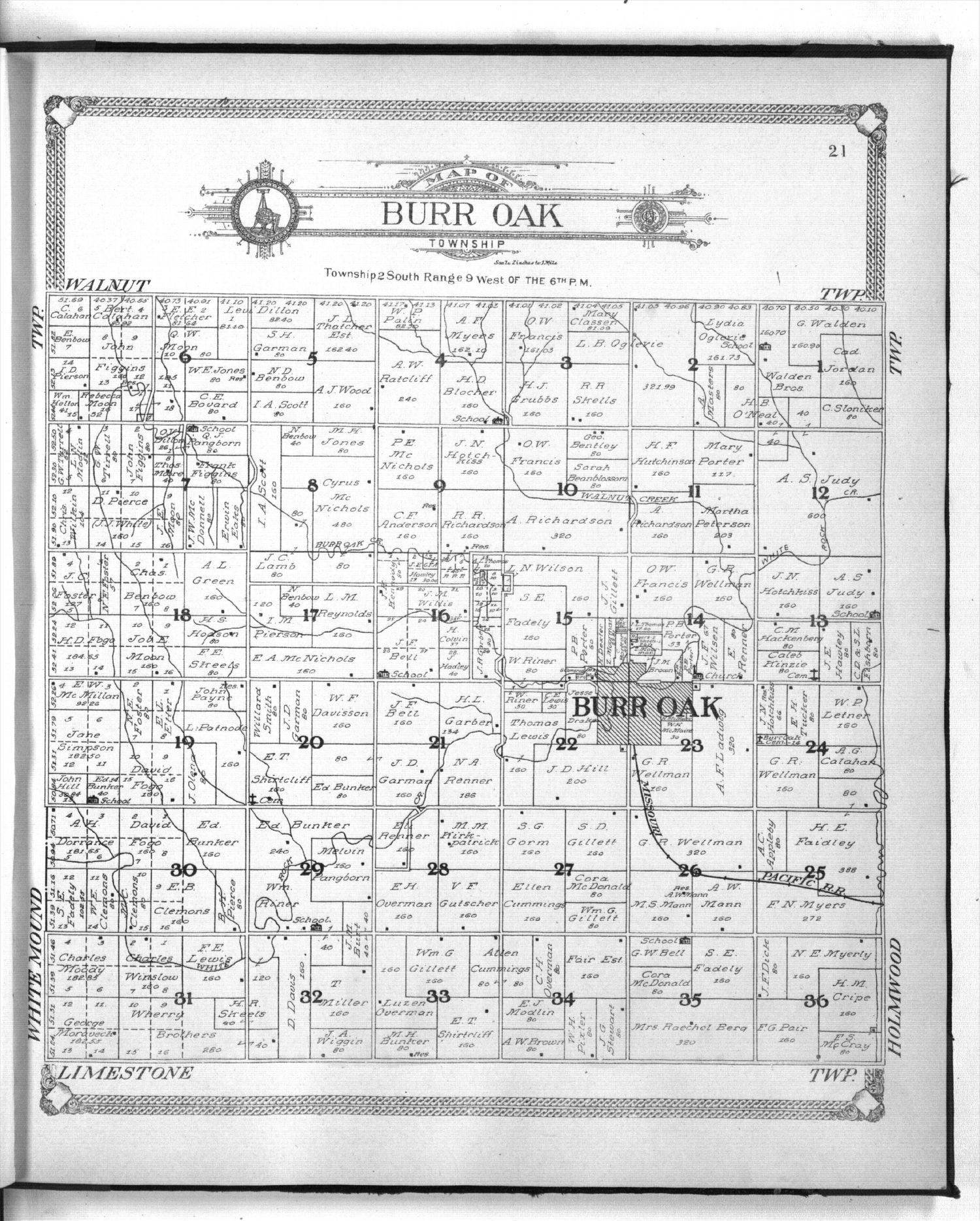 Standard atlas of Jewell County, Kansas - 21