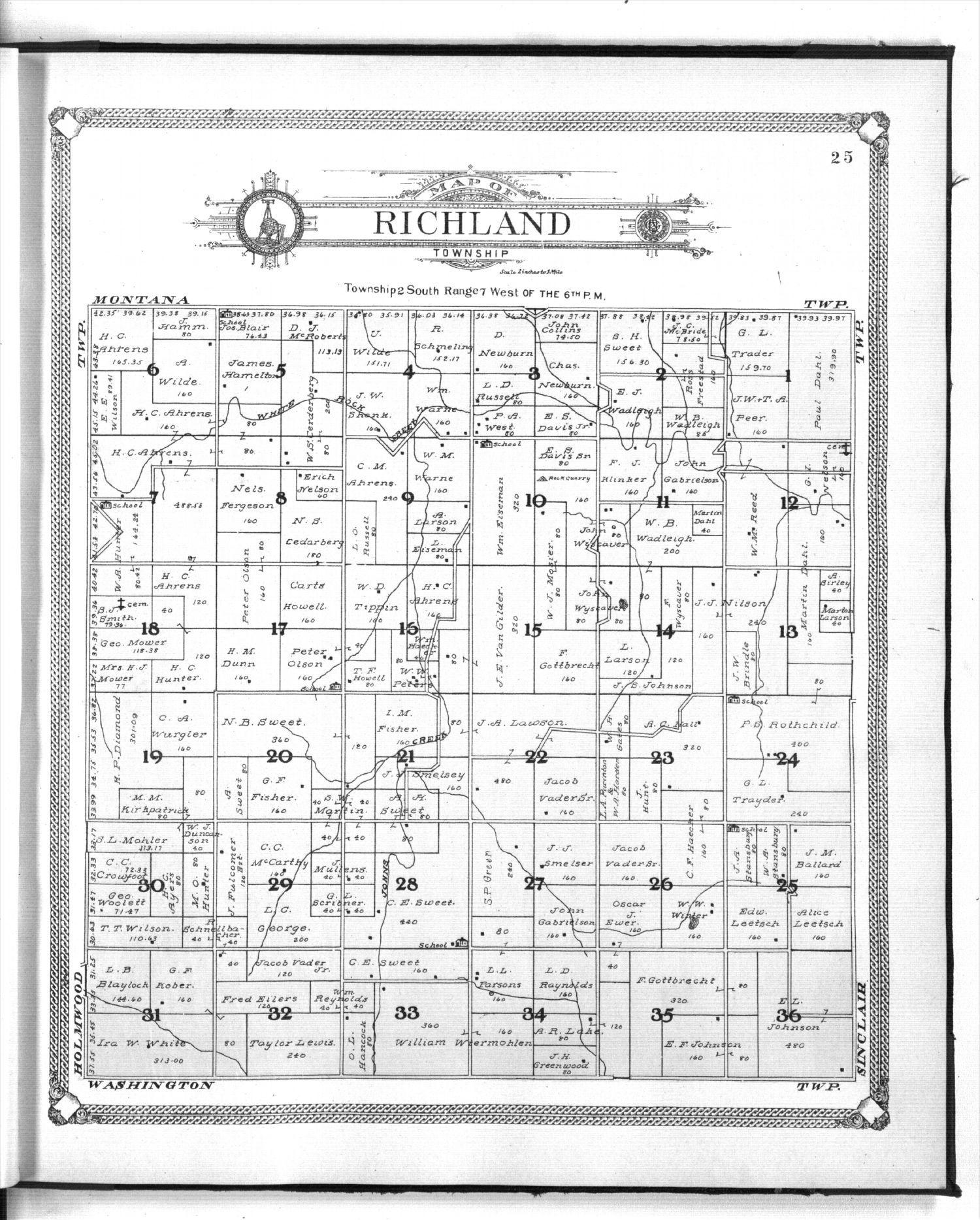 Standard atlas of Jewell County, Kansas - 25