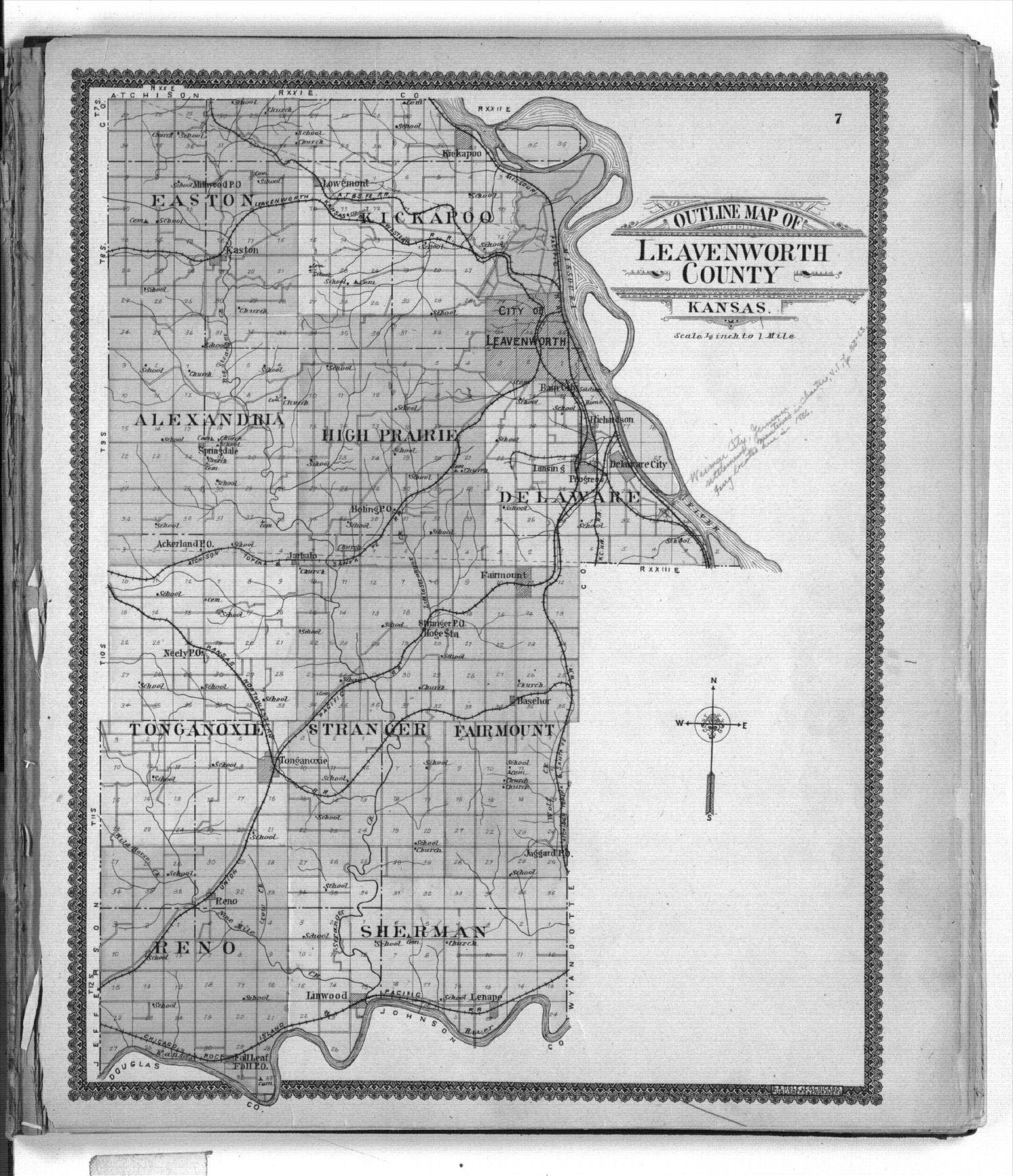 Standard atlas of Leavenworth County, Kansas - 7