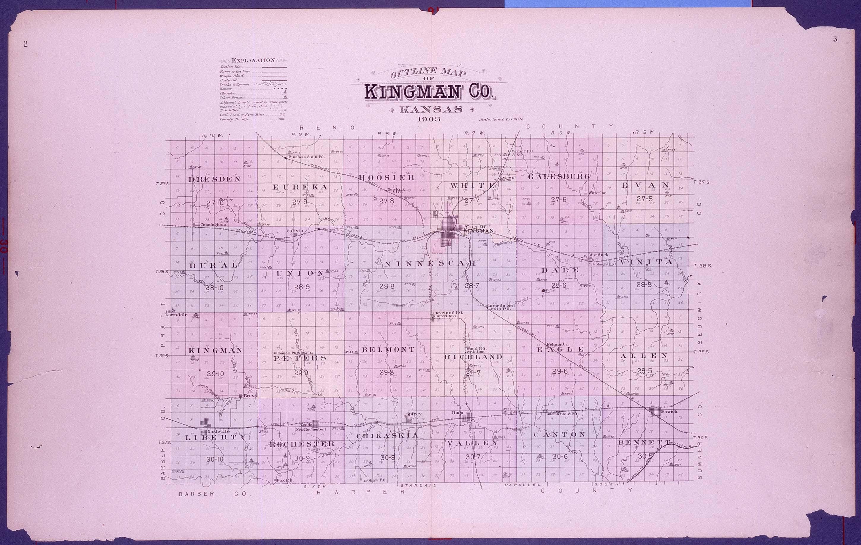 Plat book of Kingman County, Kansas - 2 & 3