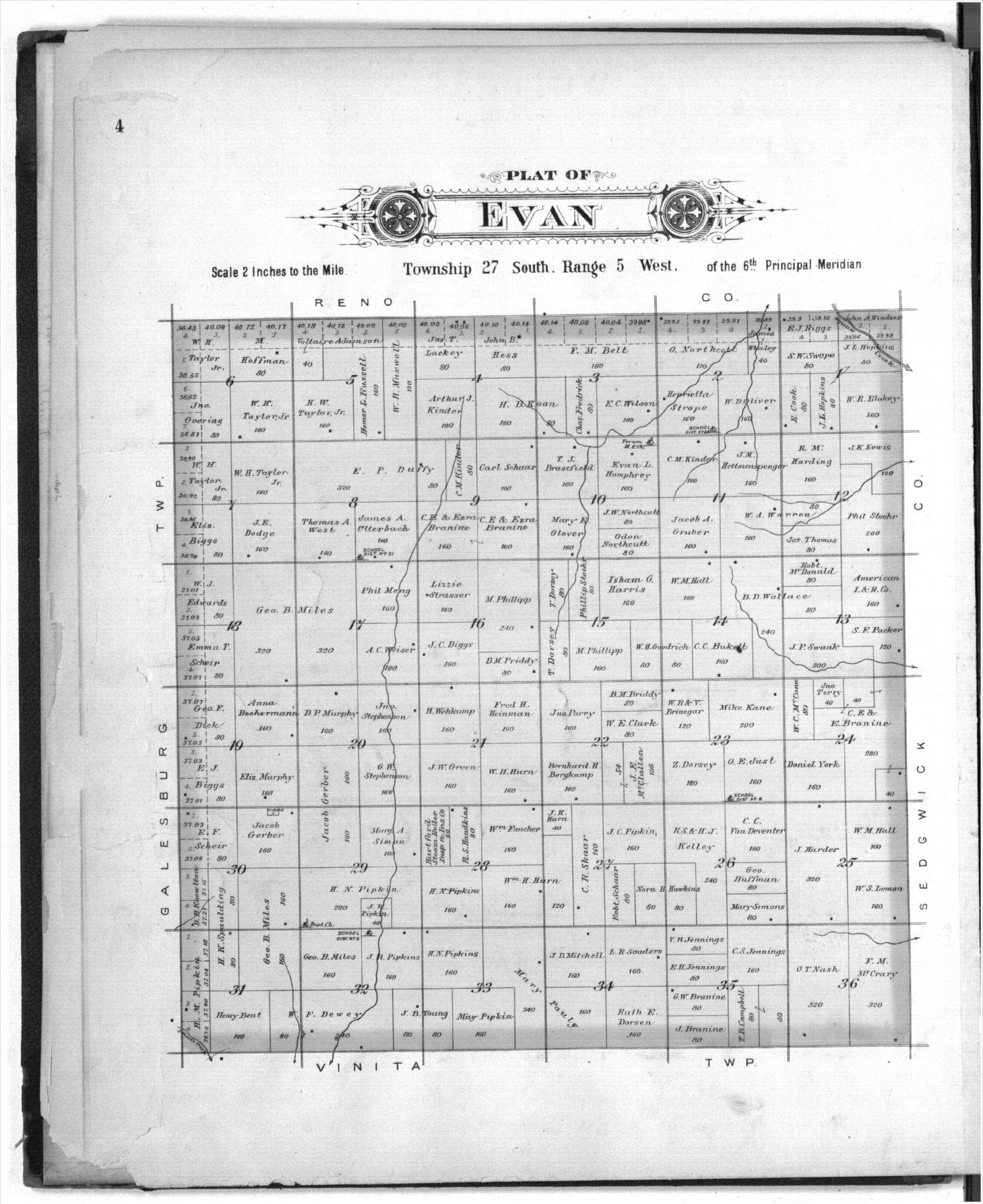 Plat book of Kingman County, Kansas - 4