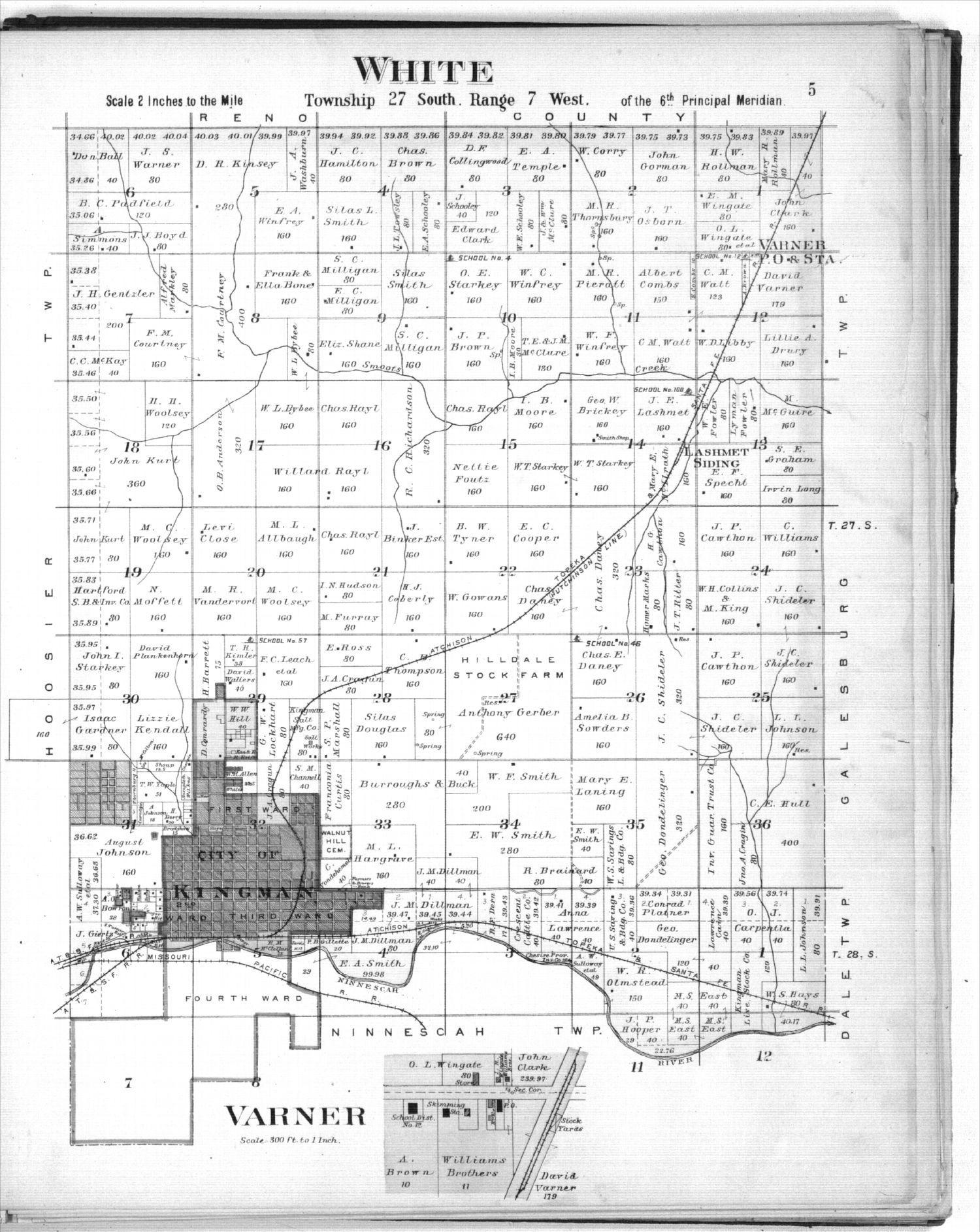 Plat book of Kingman County, Kansas - 5