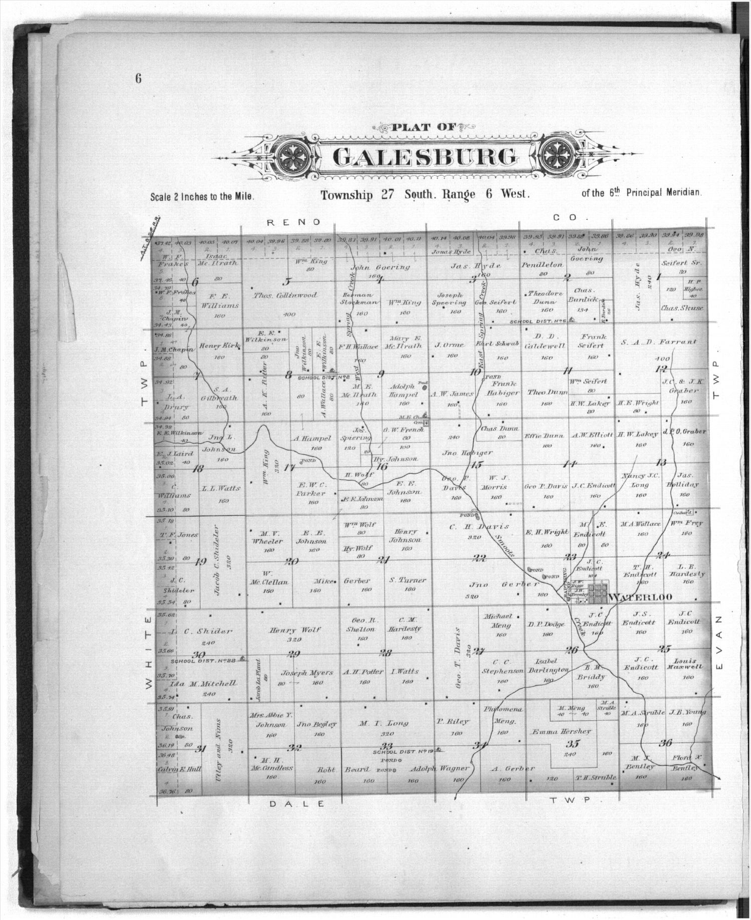 Plat book of Kingman County, Kansas - 6