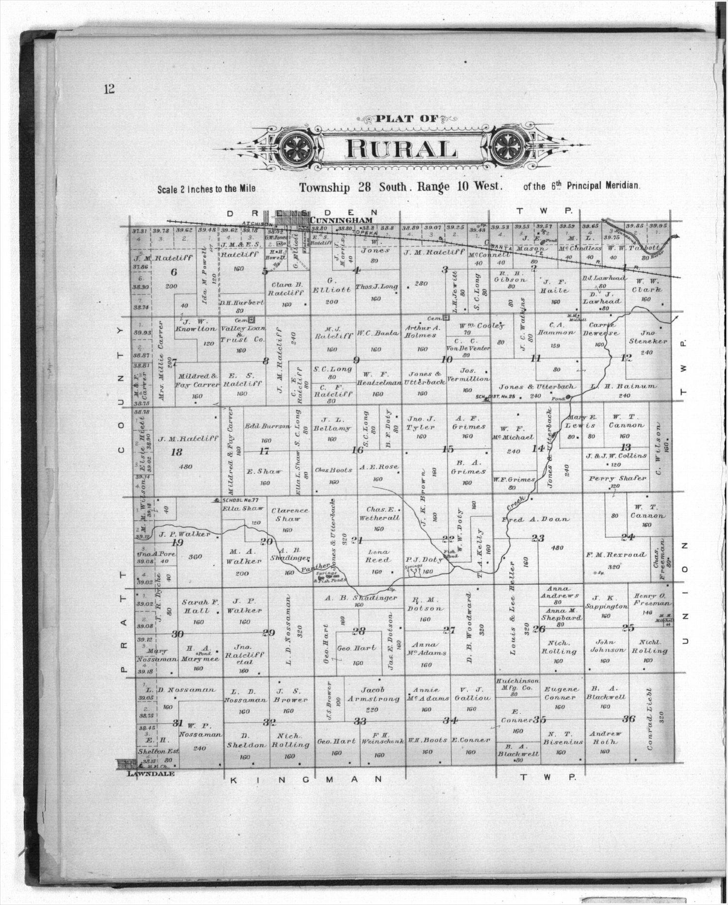 Plat book of Kingman County, Kansas - 12