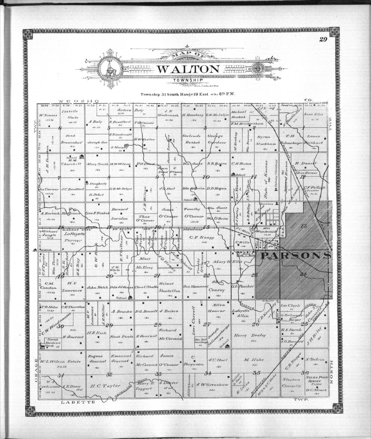 Standard atlas of Labette County, Kansas - 29